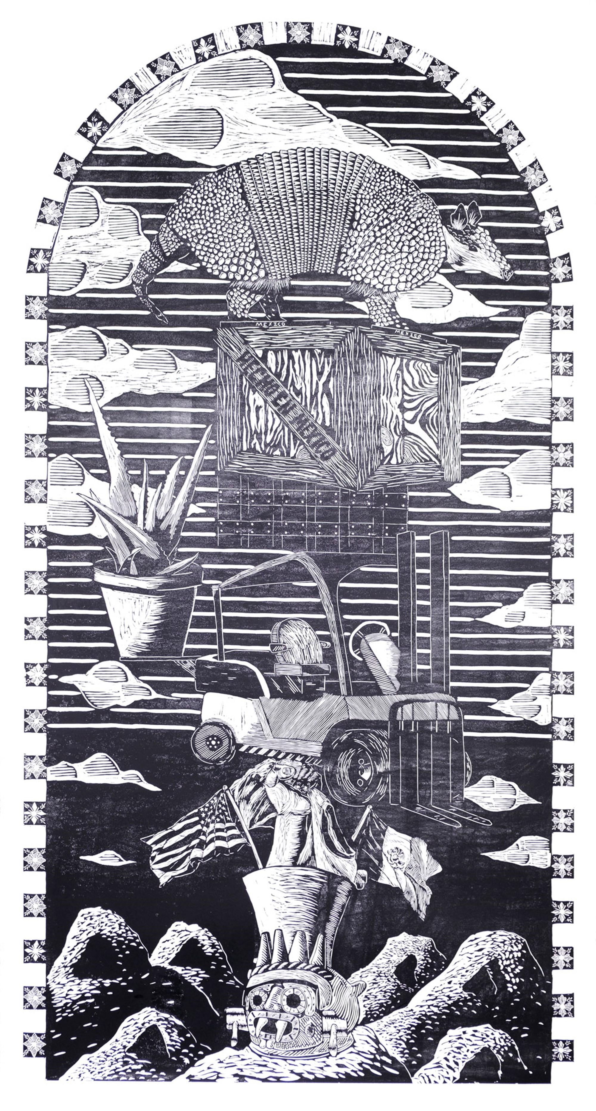 Illegal Human by Ben Muñoz