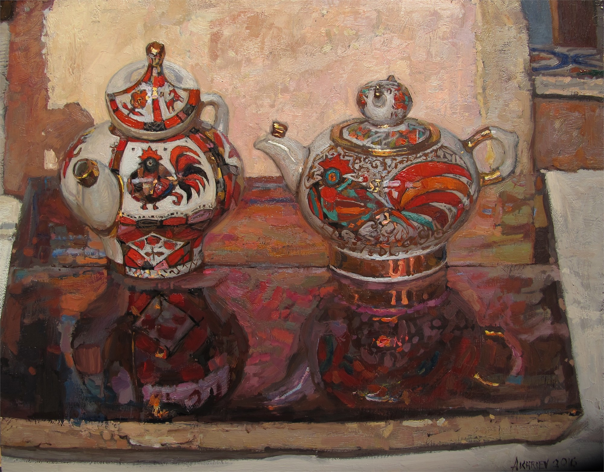 Russian Tea Party: In A Relationship by Daud Akhriev