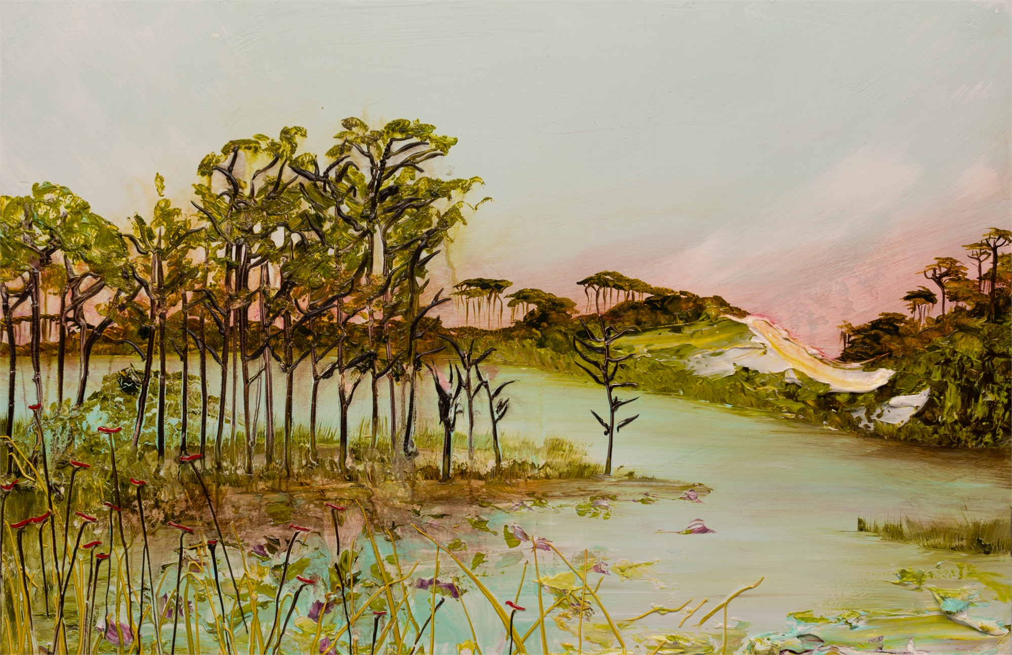 LAKESCAPE LS-36x24-2019-338 by JUSTIN GAFFREY