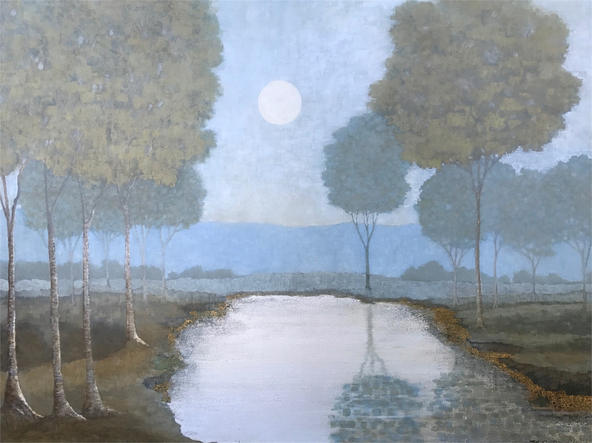 Afternoon Moon by Carol Bodiford