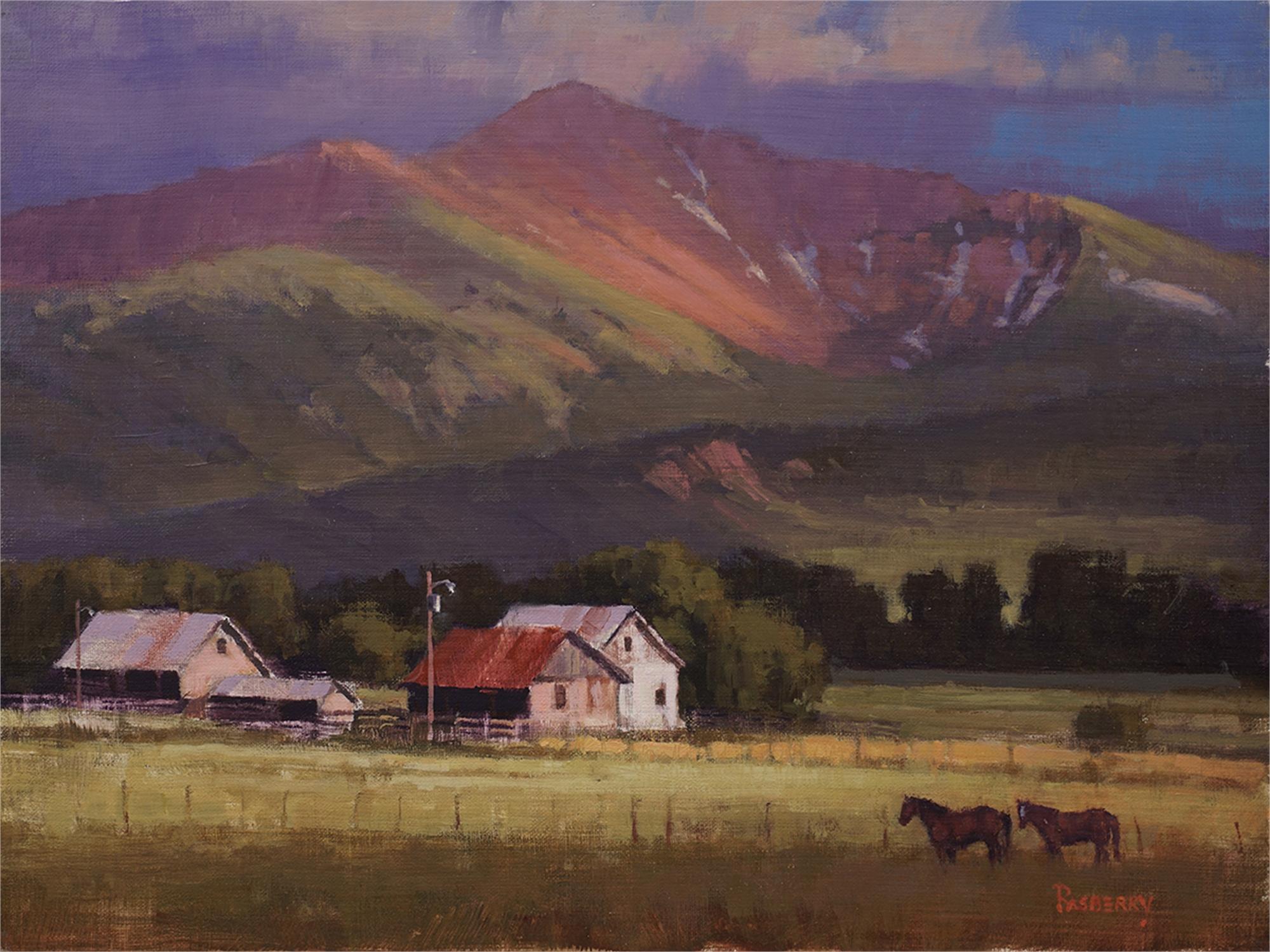 High Mountain Ranch by John Rasberry