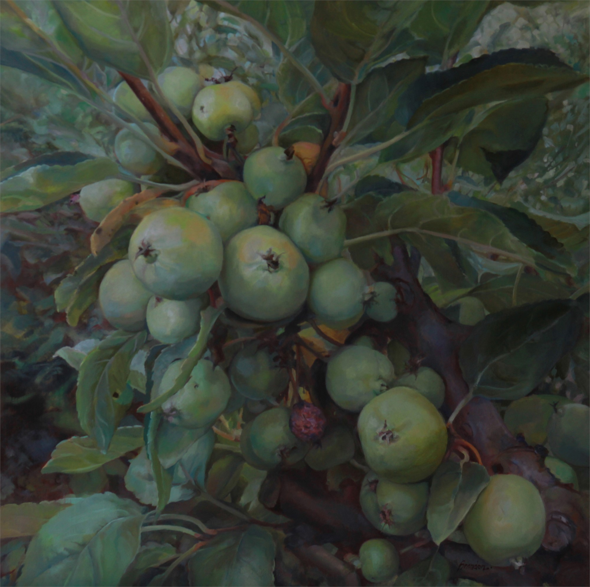 Thundering Quince by Linda Tracey Brandon