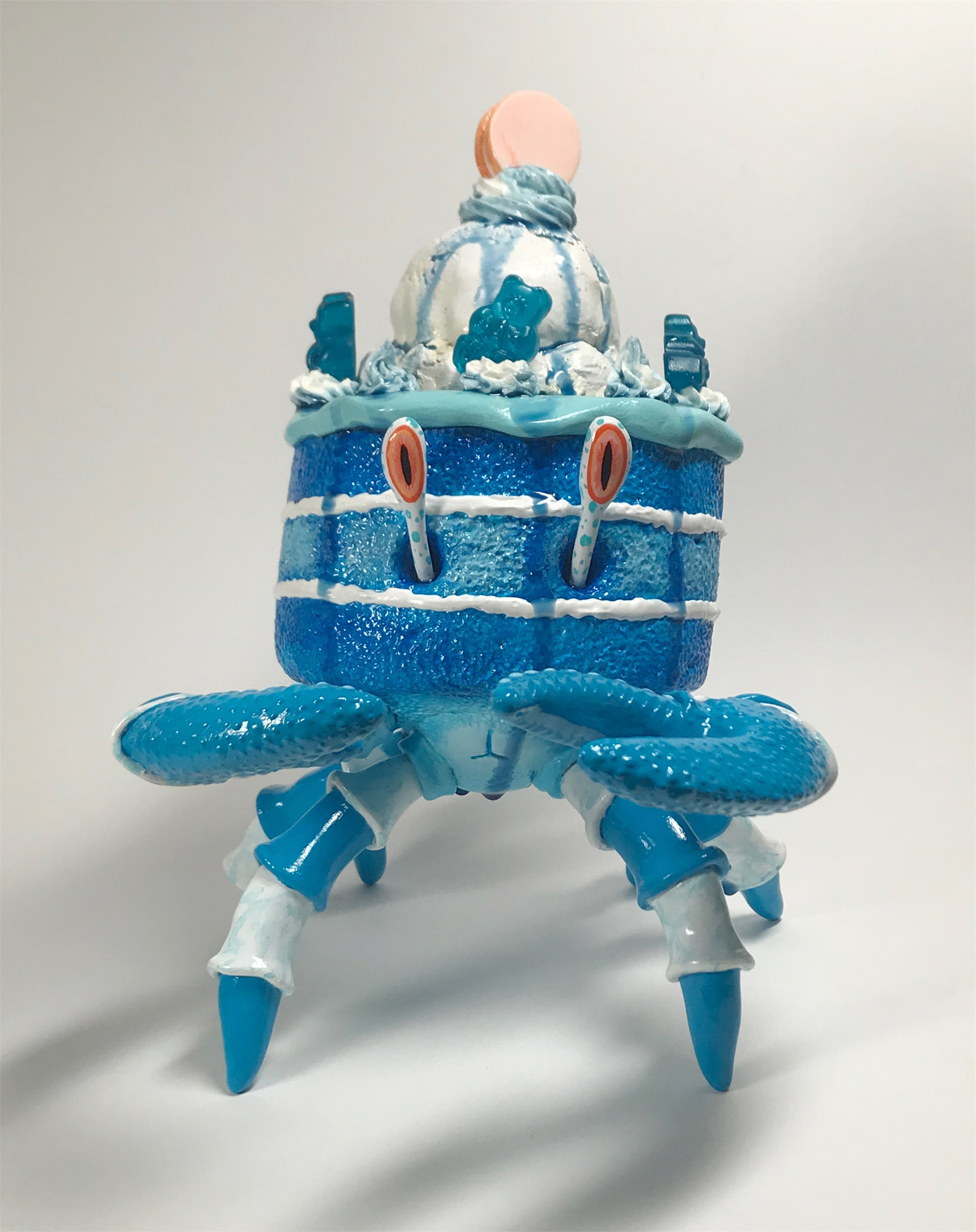 Blue Raspberry Crabcake by Corina St. Martin