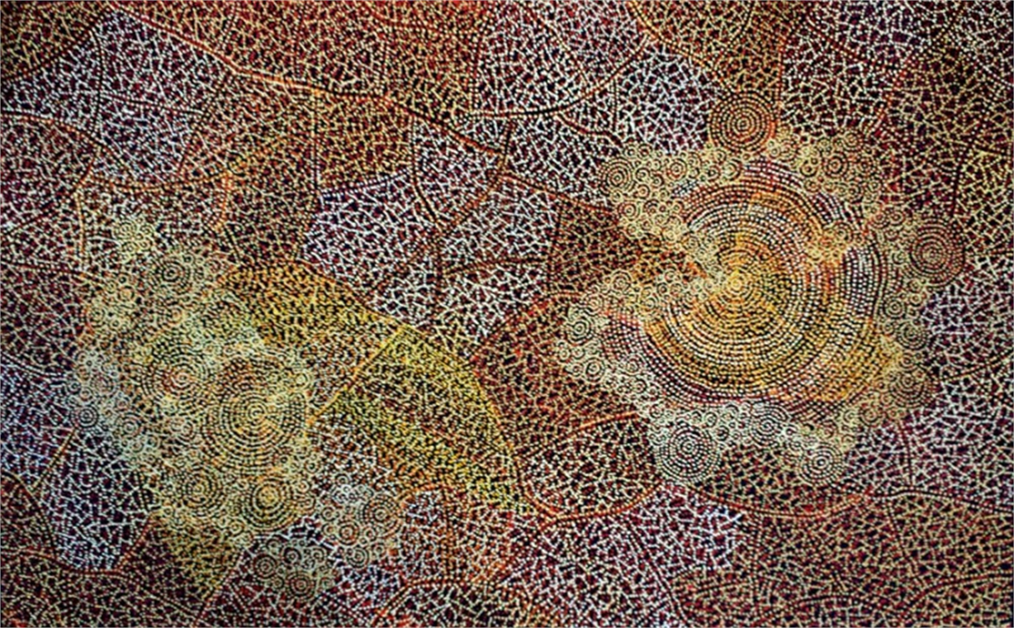 Ancestors II by Australian Aboriginal Artists