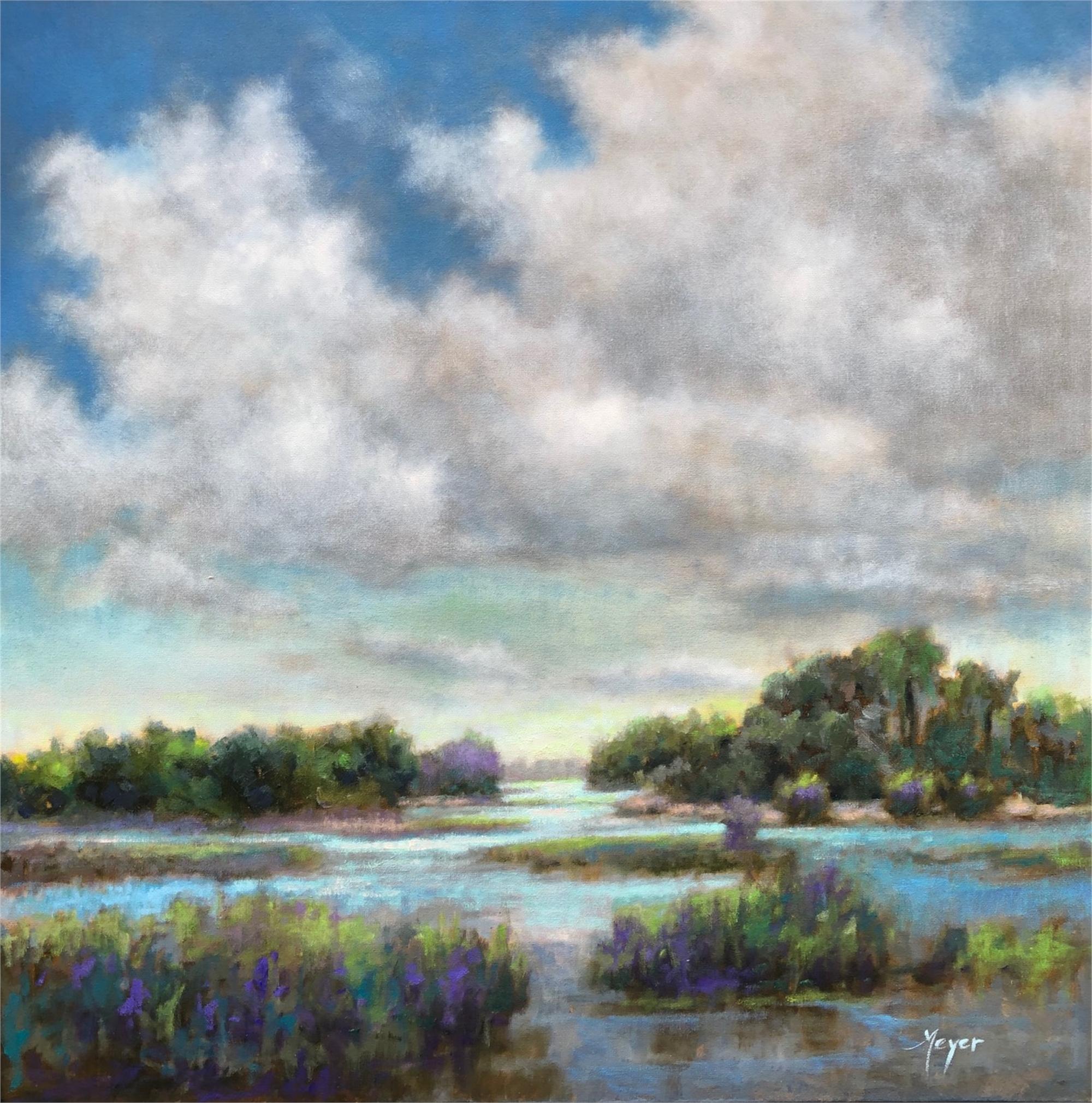 Increasing Clouds, II by Laurie Meyer
