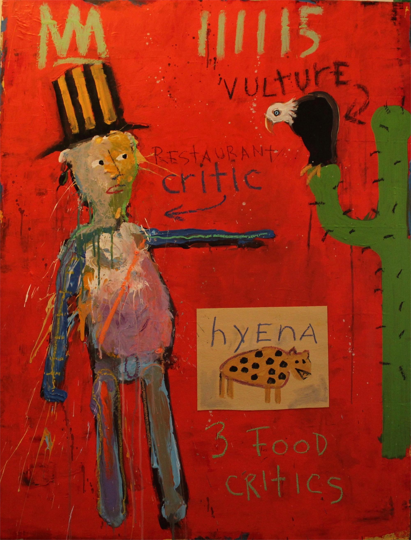 3 Food Critics by Michael Snodgrass