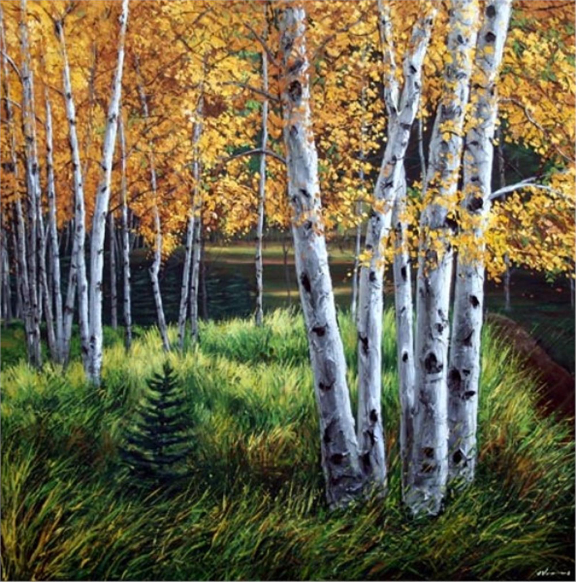 Autumn Path by Jennifer Vranes