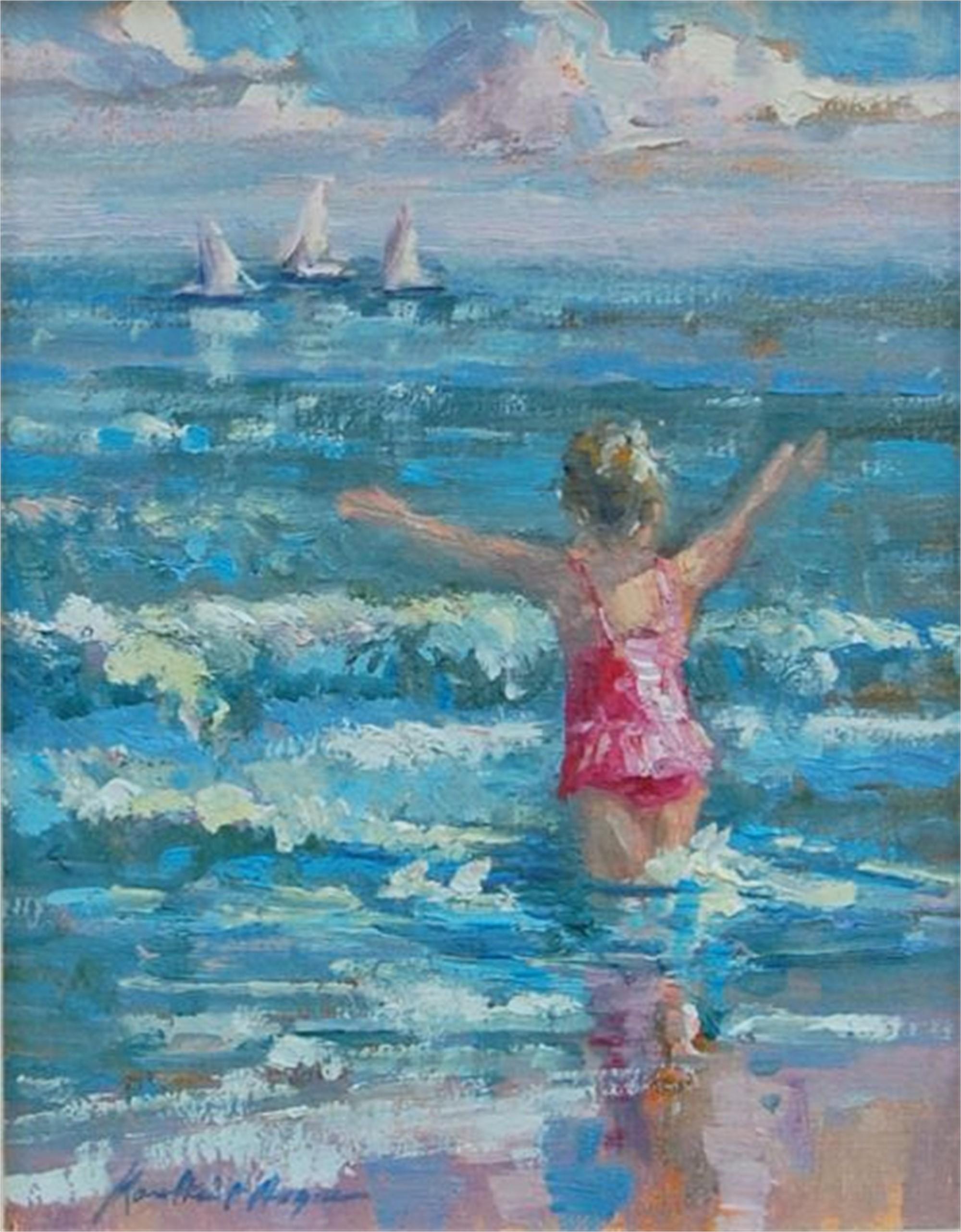 Glorious Beach Day by Karen Hewitt Hagan