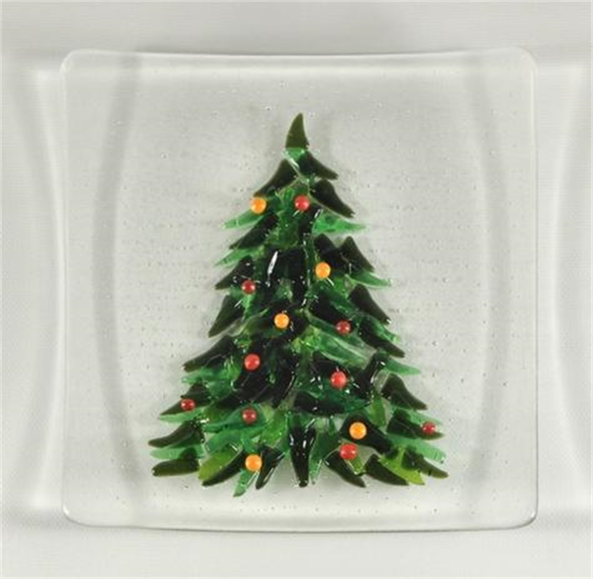 Christmas Tree Plate by Greg Rawls
