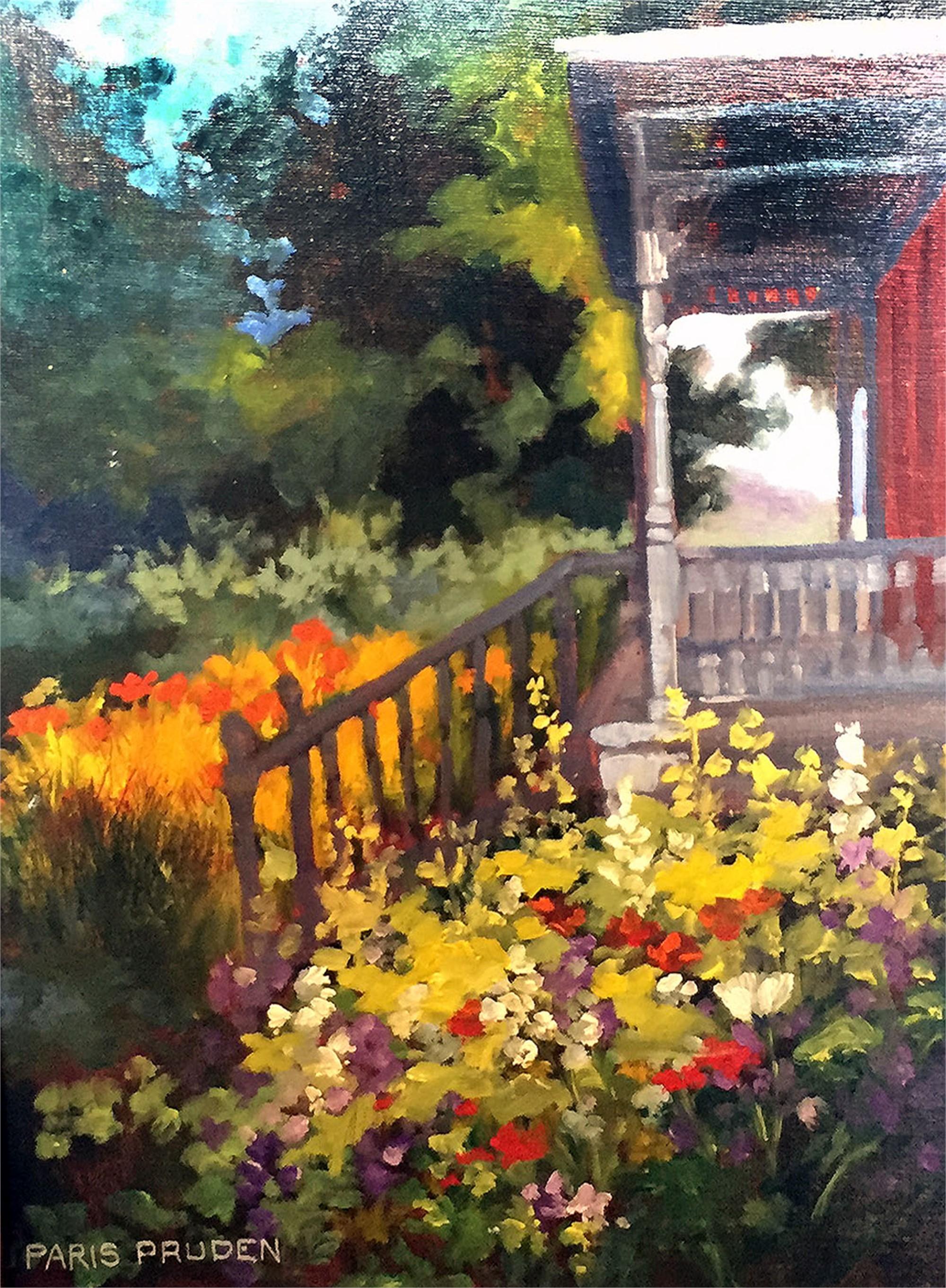 Victorian Spring Garden by Nancy Paris Pruden