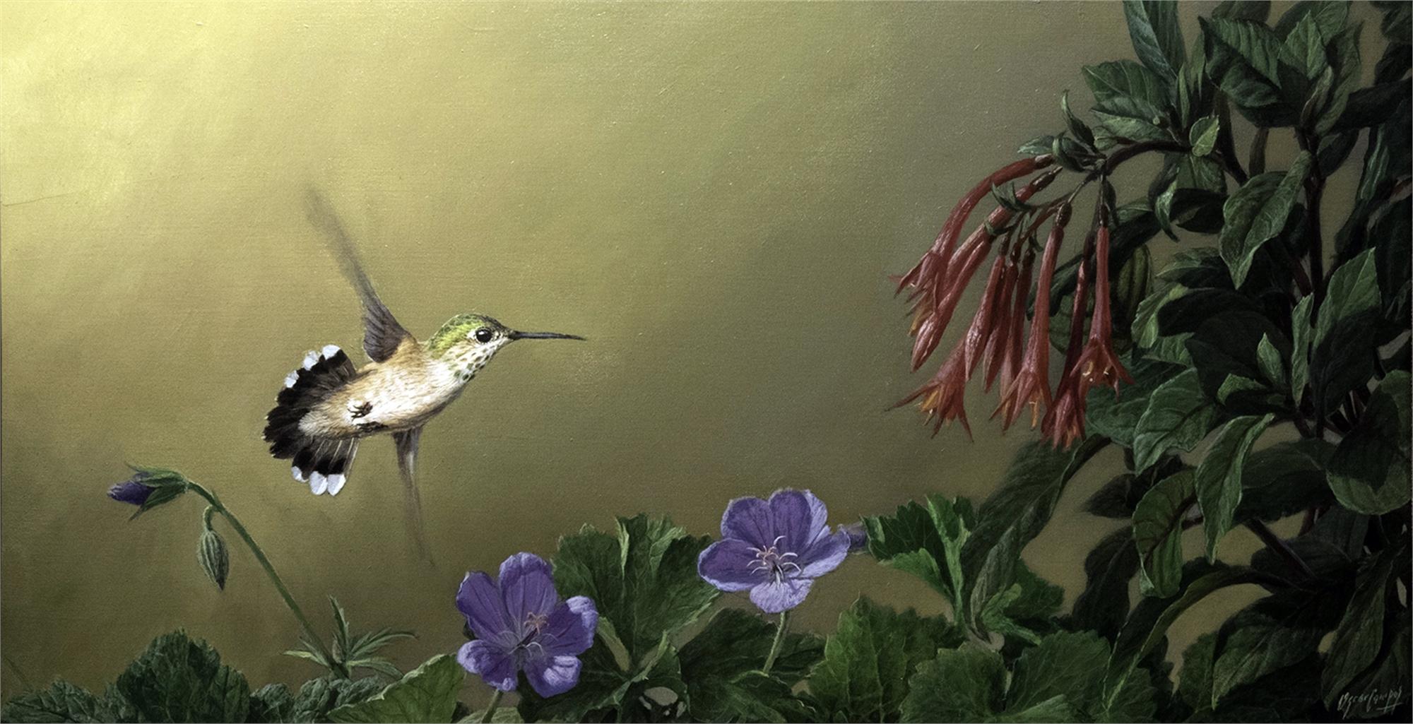 Hacia Las Flores Toward the Flowers by Oscar Campos