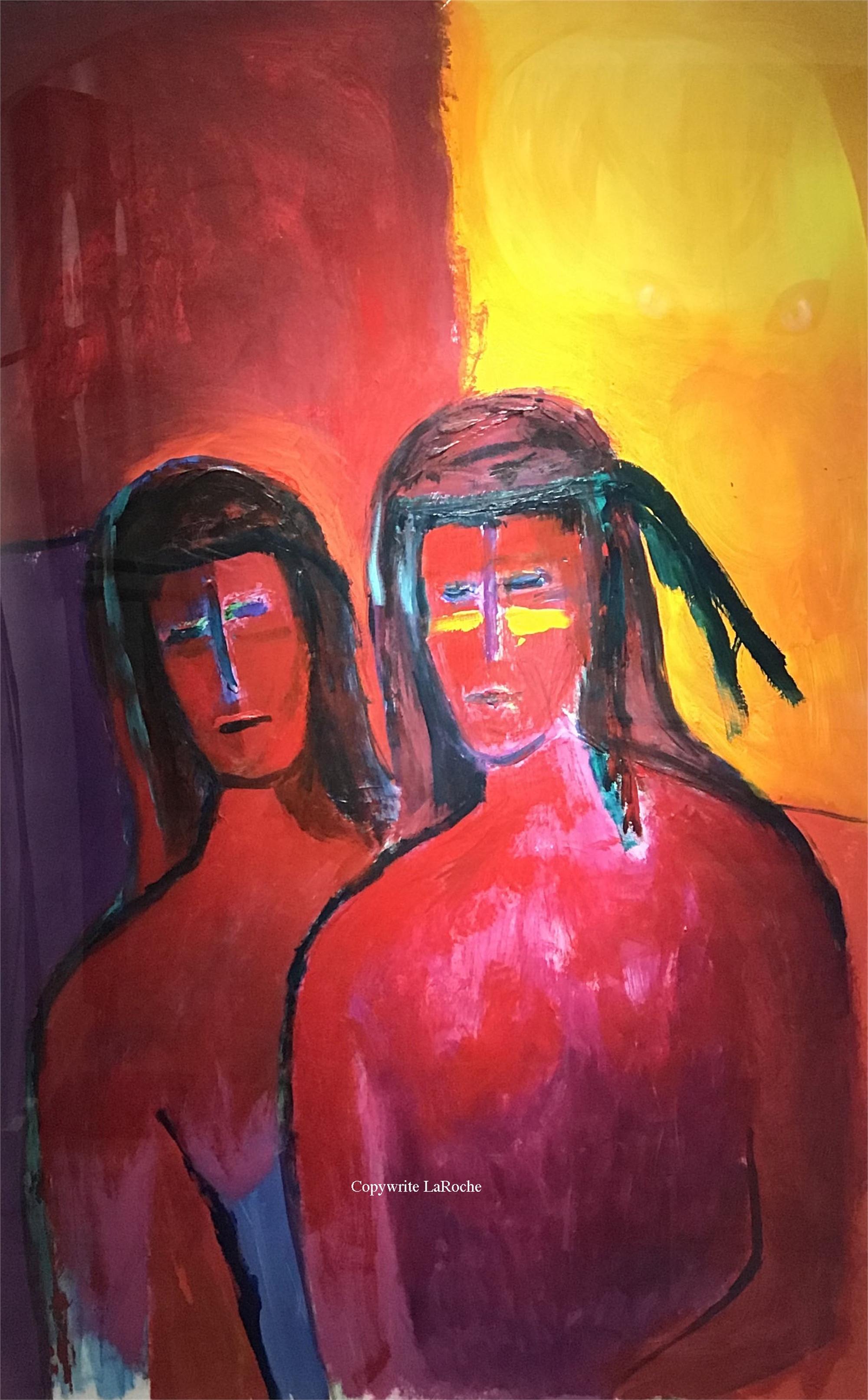 MOON AND SUN WARRIORS by Carole LaRoche