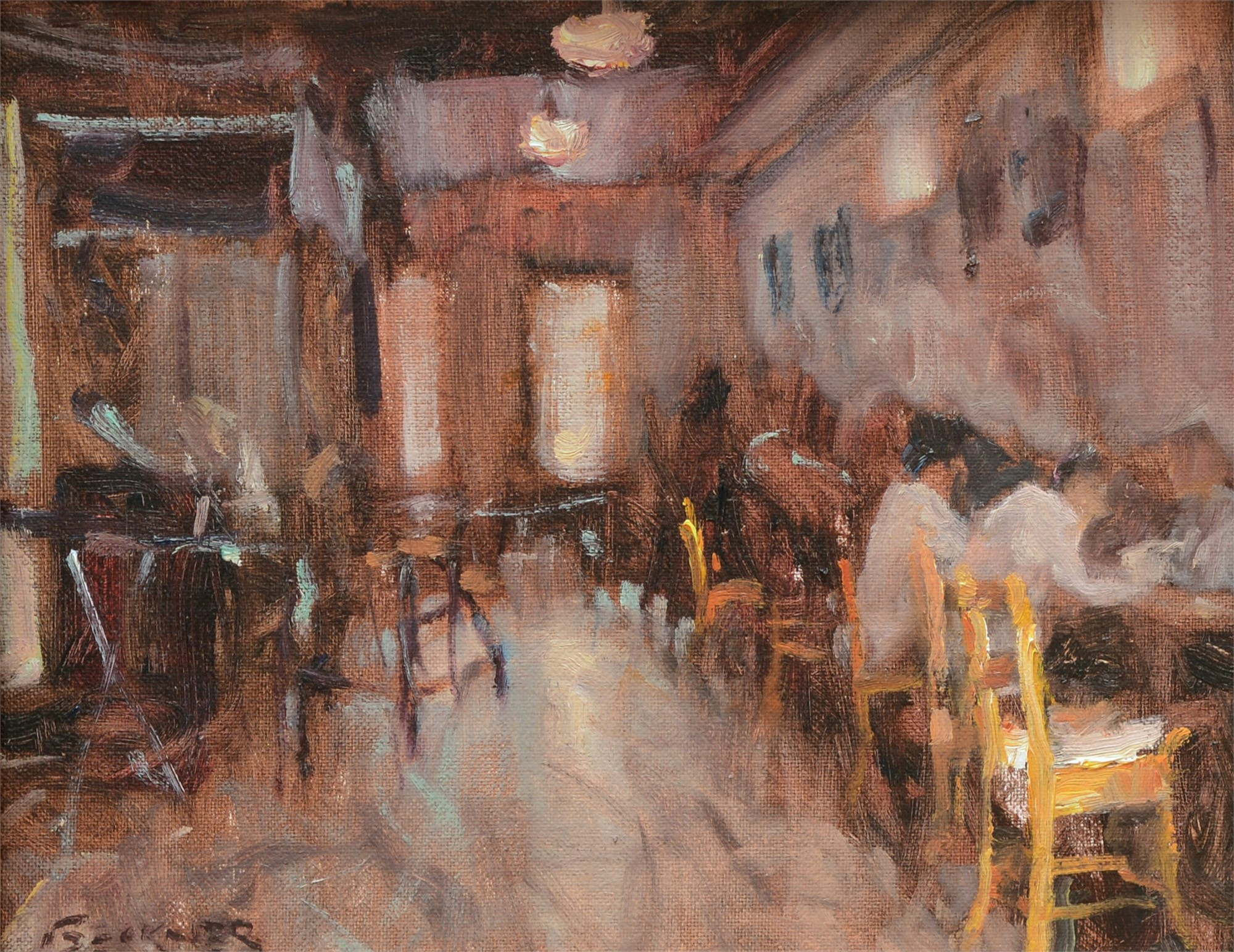 Cafe Ole by Jim Beckner