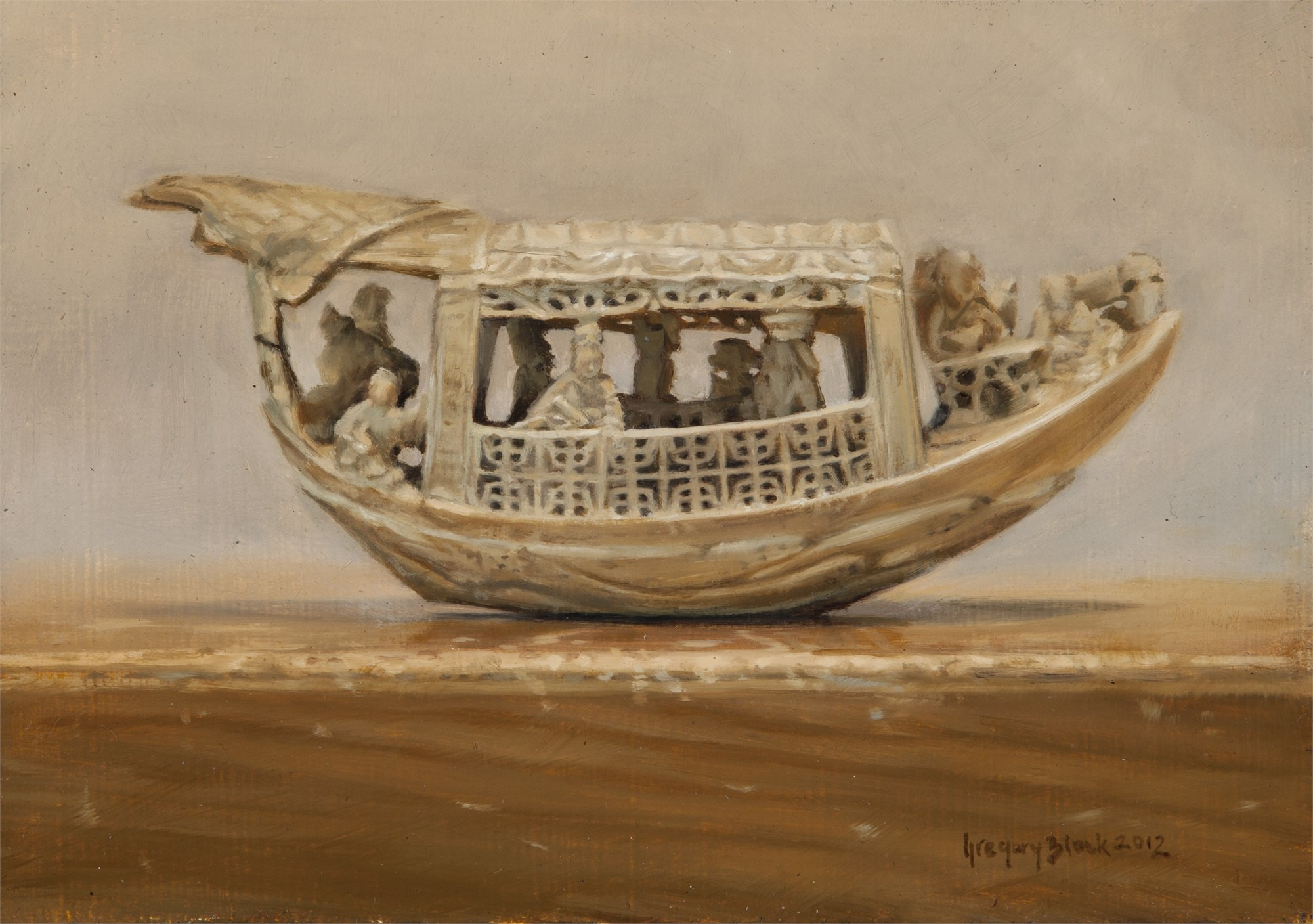 Ivory Boat by Gregory Block