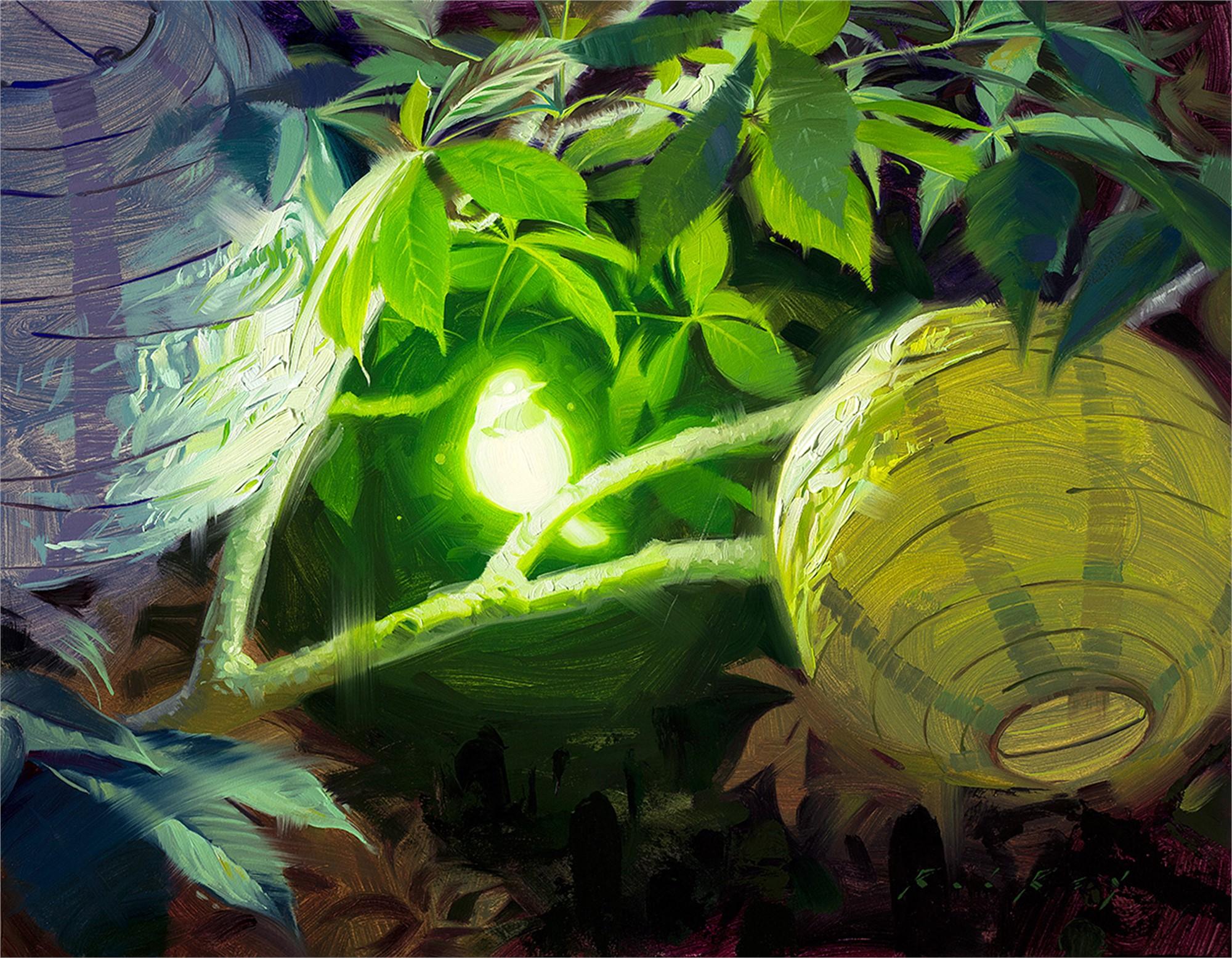Bioluminescence V by Rob Rey