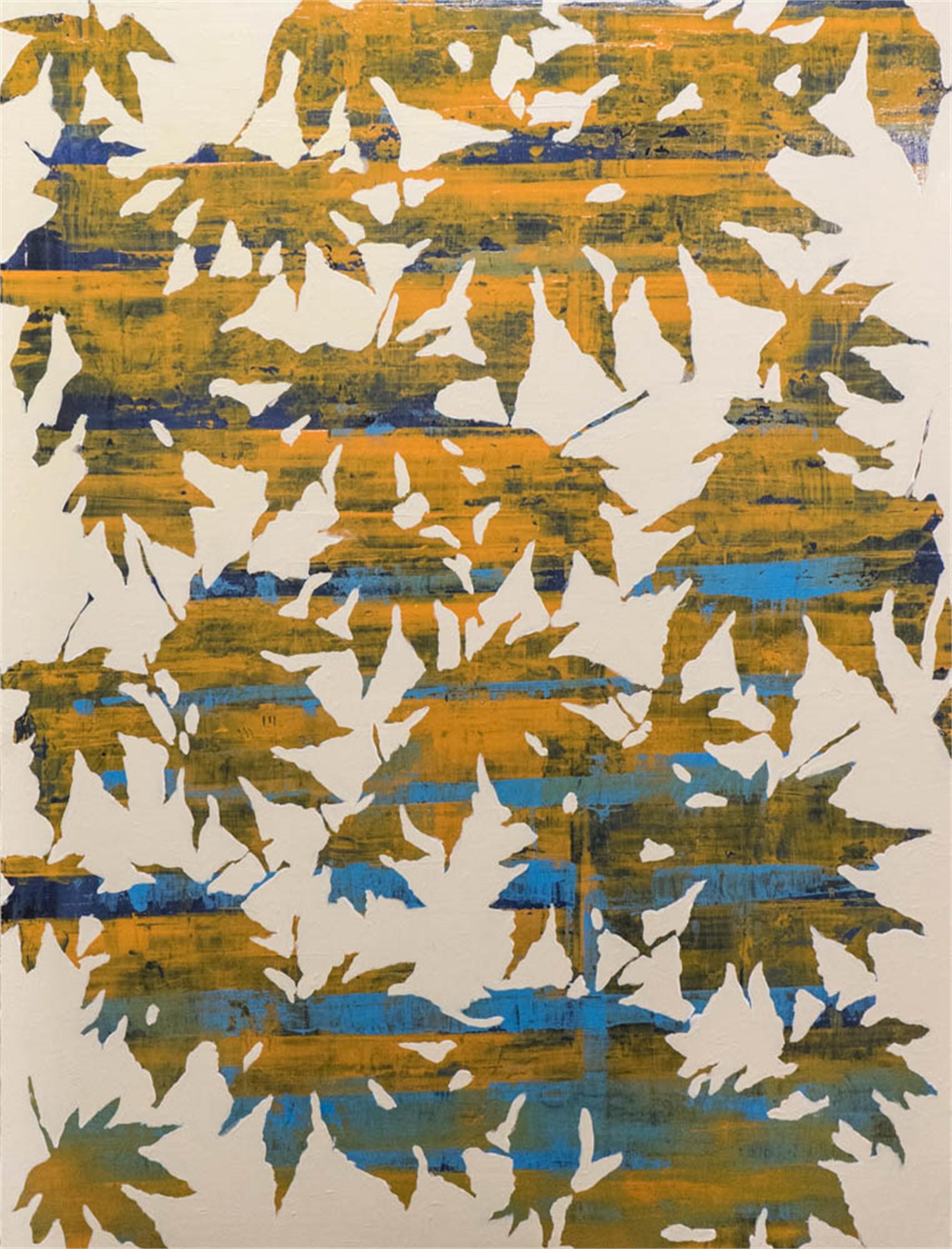 Leafy Landscape 1 by John Townsend