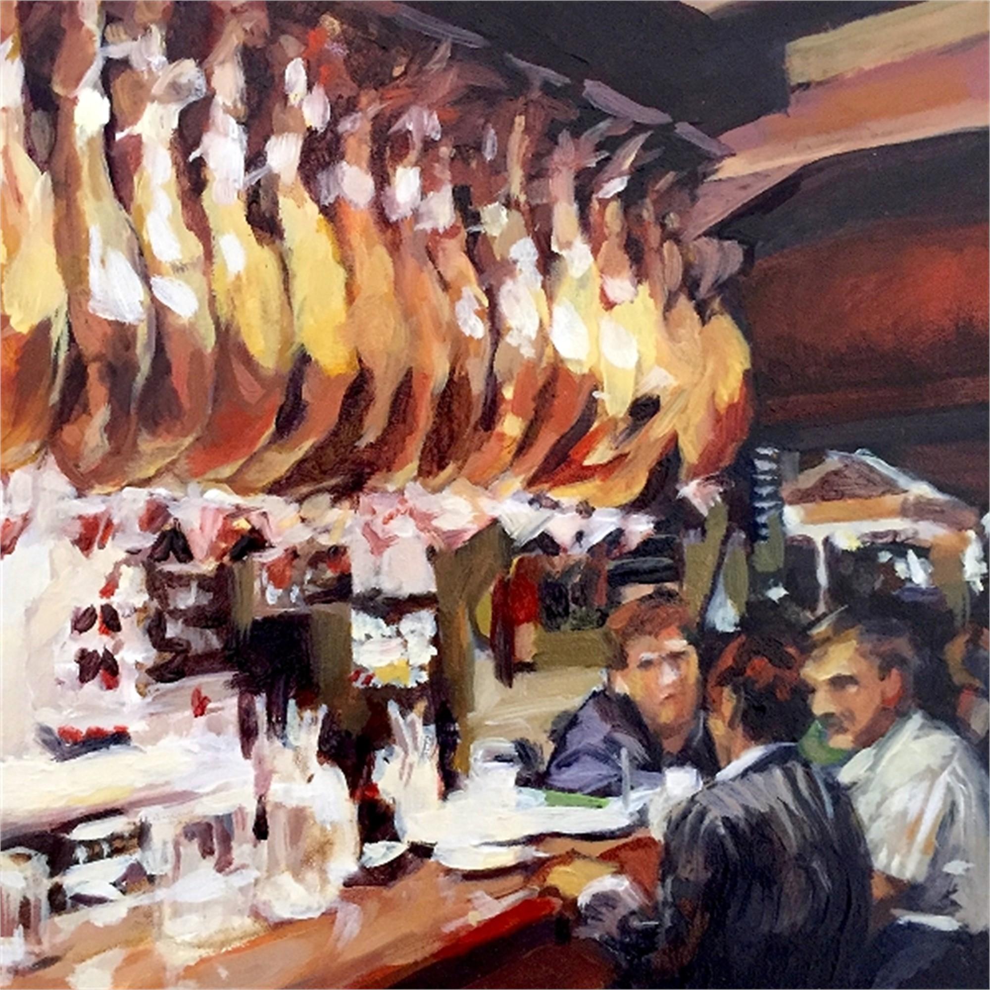 Barcelona Hams by Julie Larick
