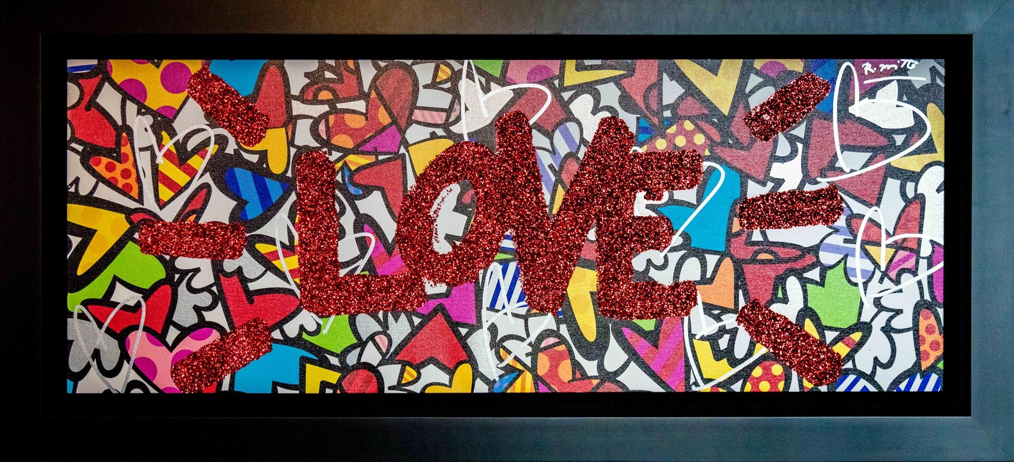 LOVE YOU! by Romero Britto
