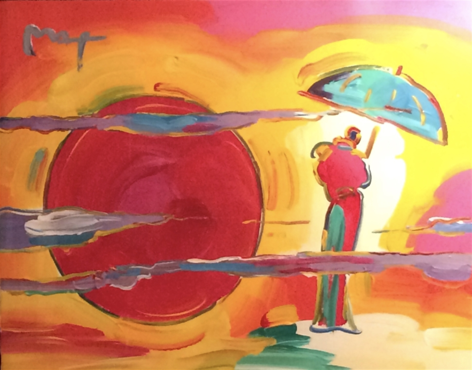 New Moon by Peter Max