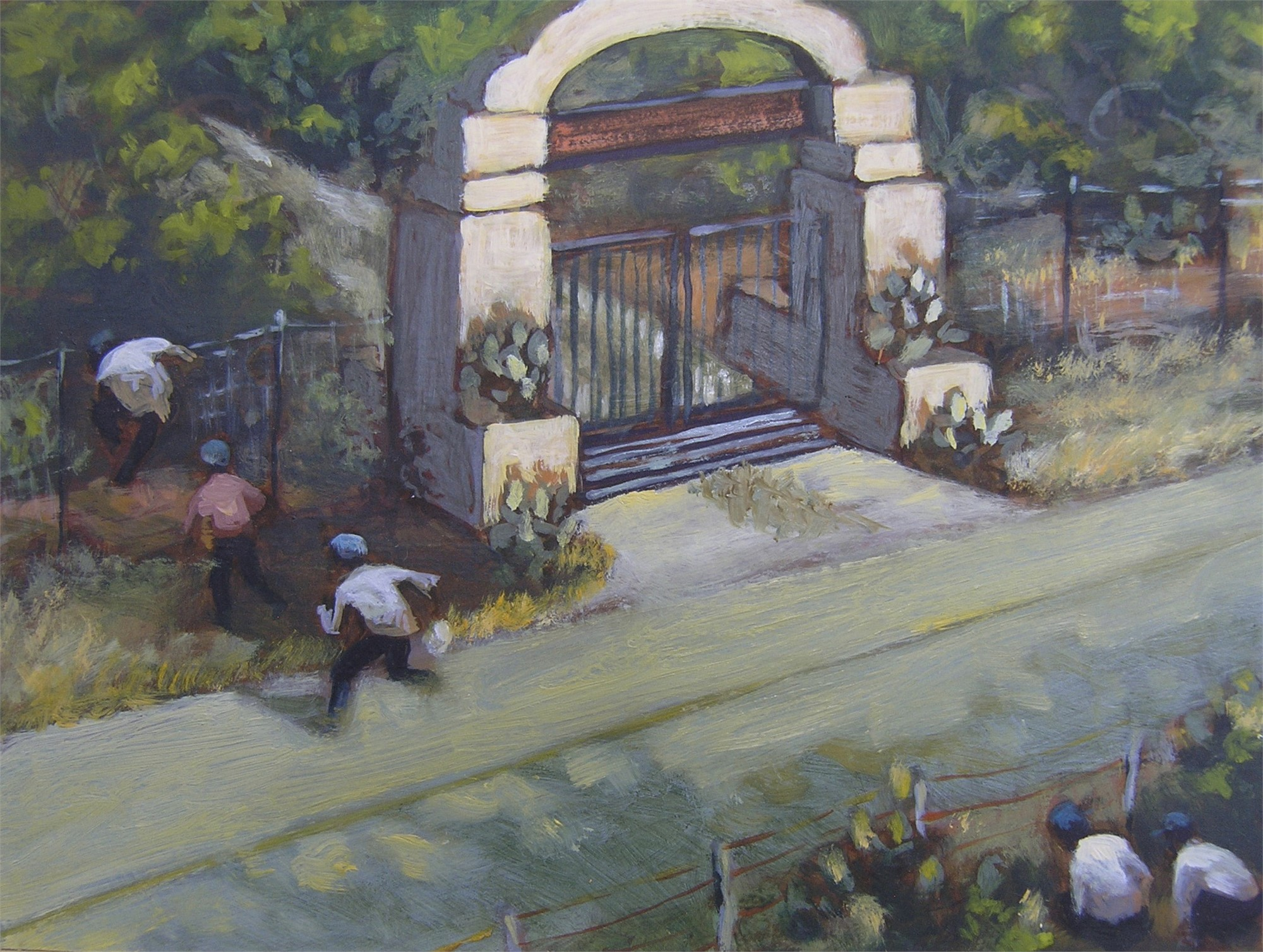 South Texas Perspective #4 by Janet Eager Krueger