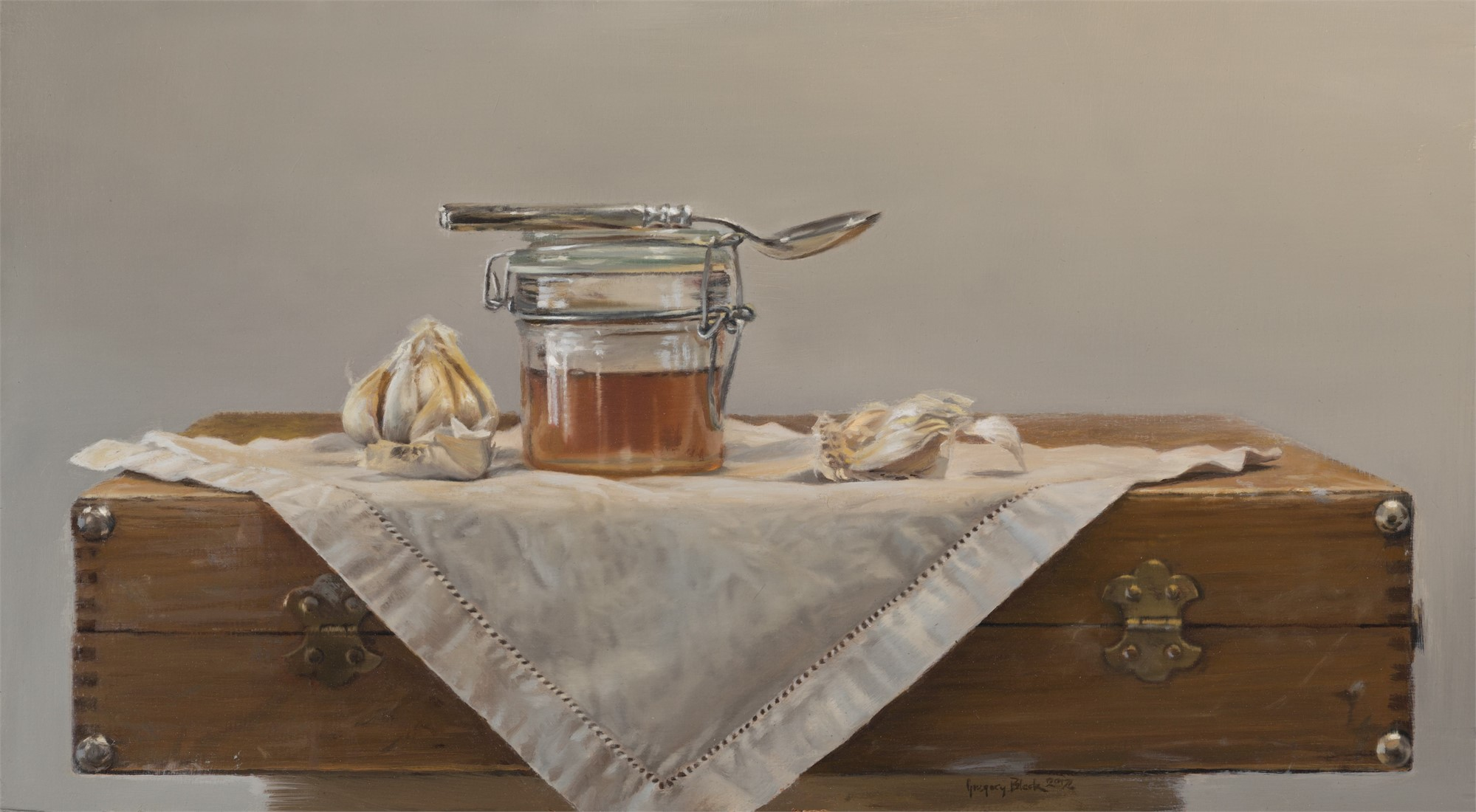 Honey and Garlic by Gregory Block