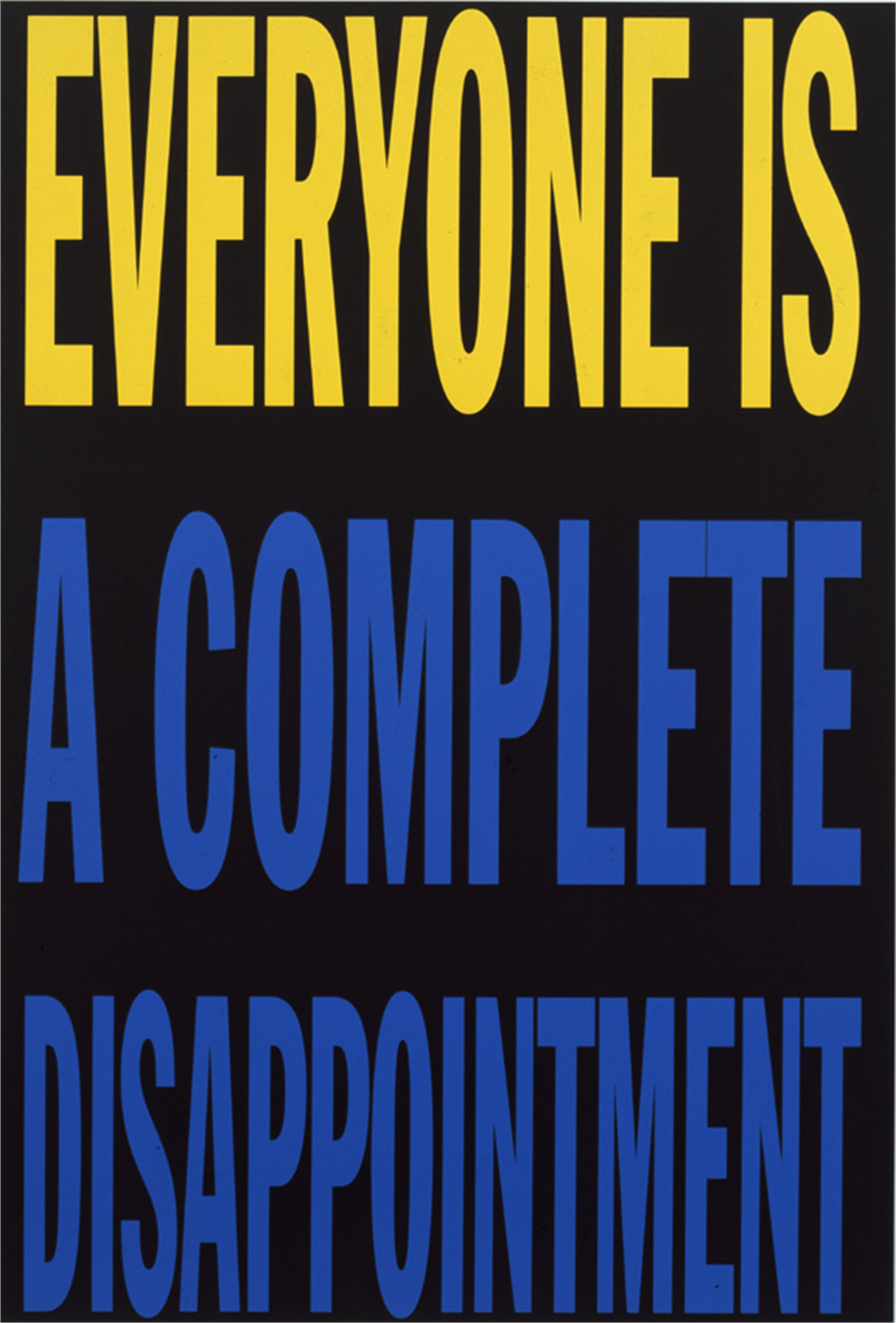 Everyone is... by John Giorno