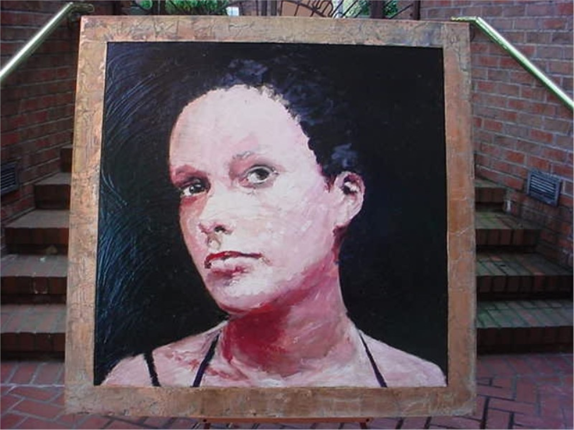Portrait of a Girl No. 1 by Mark Gaskin