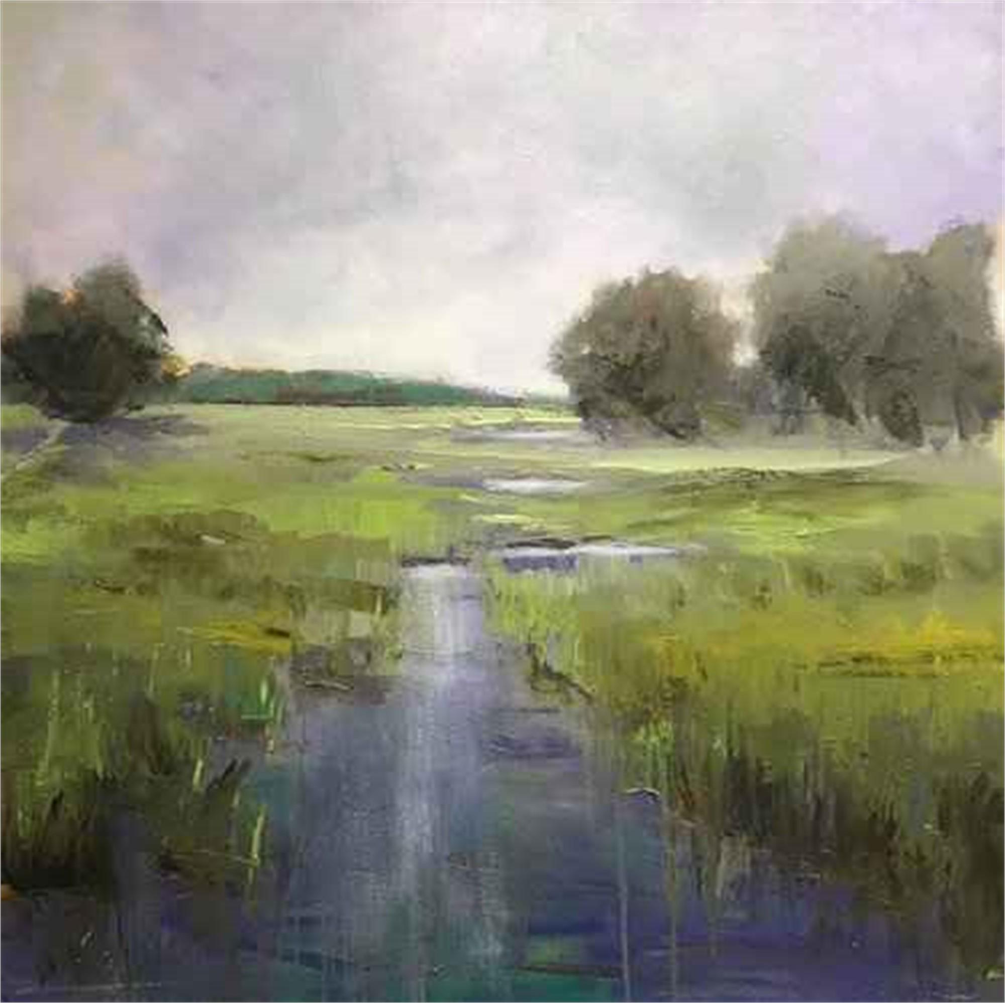 River Bending by Kim Gibbs