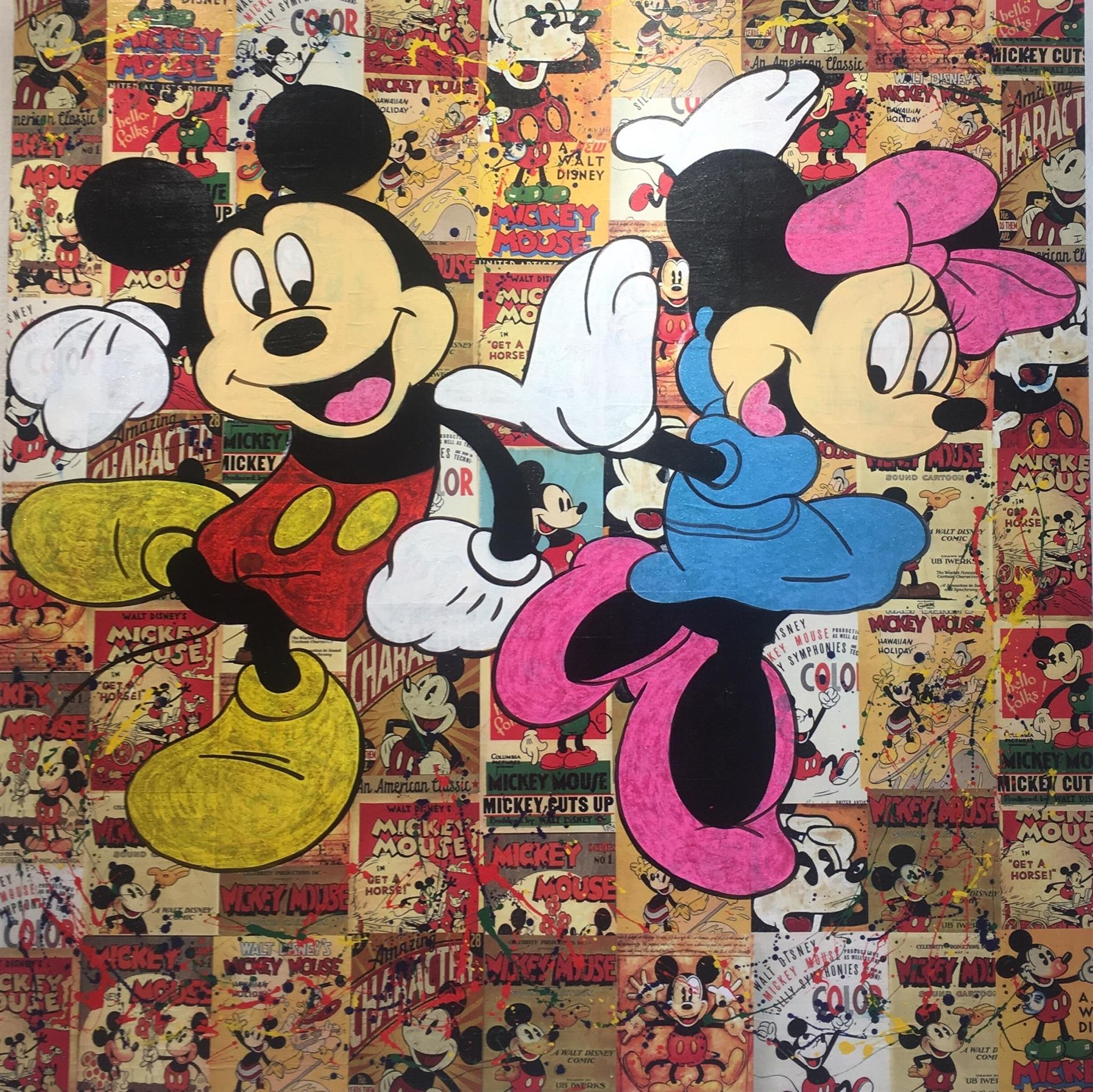 Mickey & Mini Dancing by Buma Project