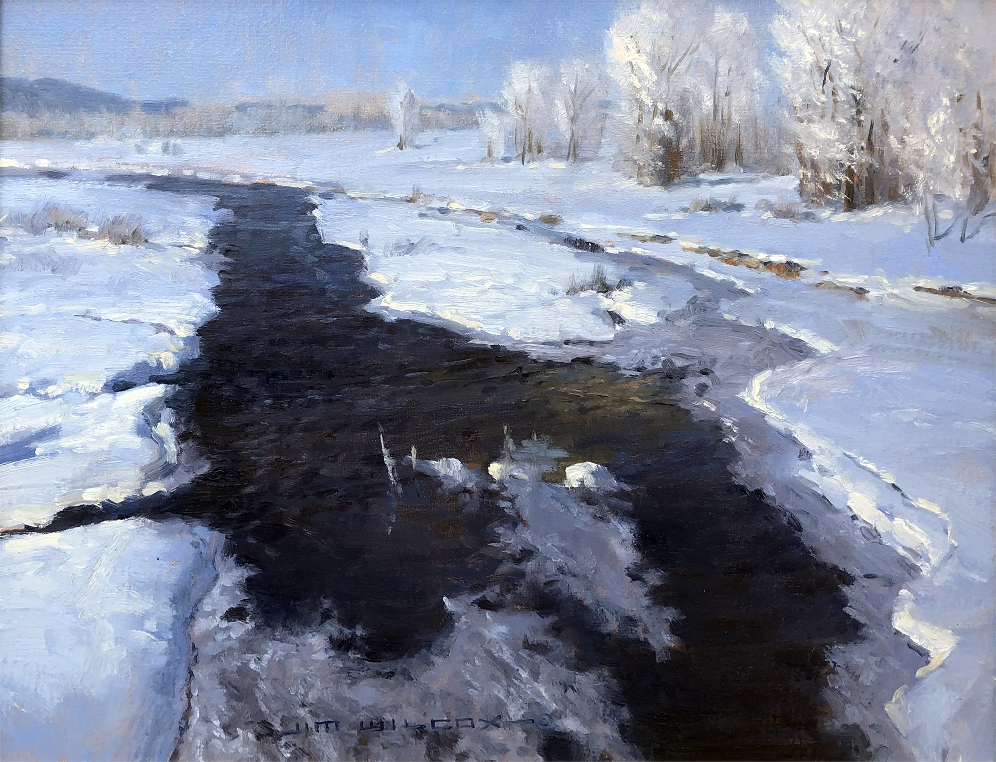 February Frost by Jim Wilcox