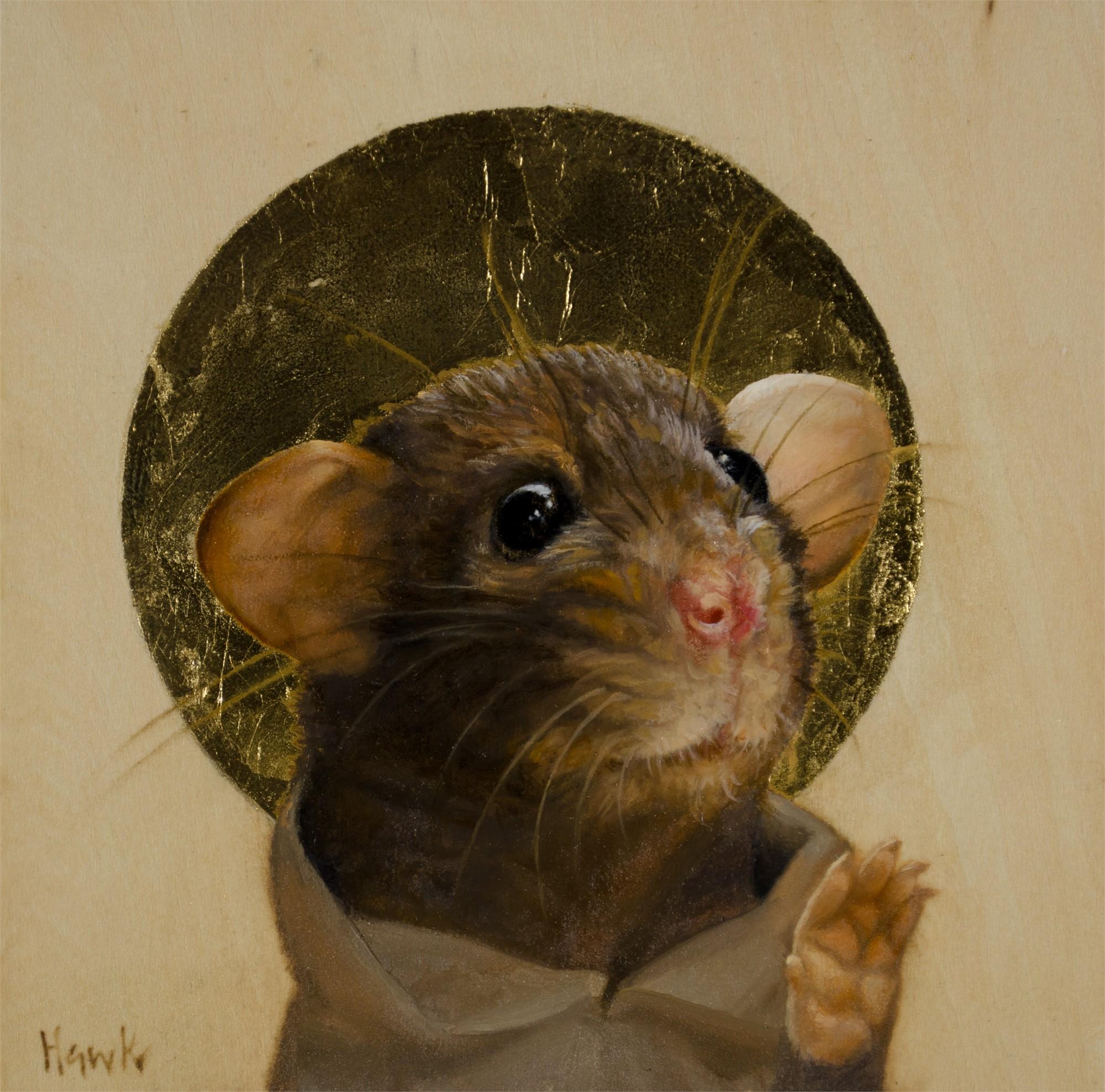 Devout Mouse by Dana Hawk
