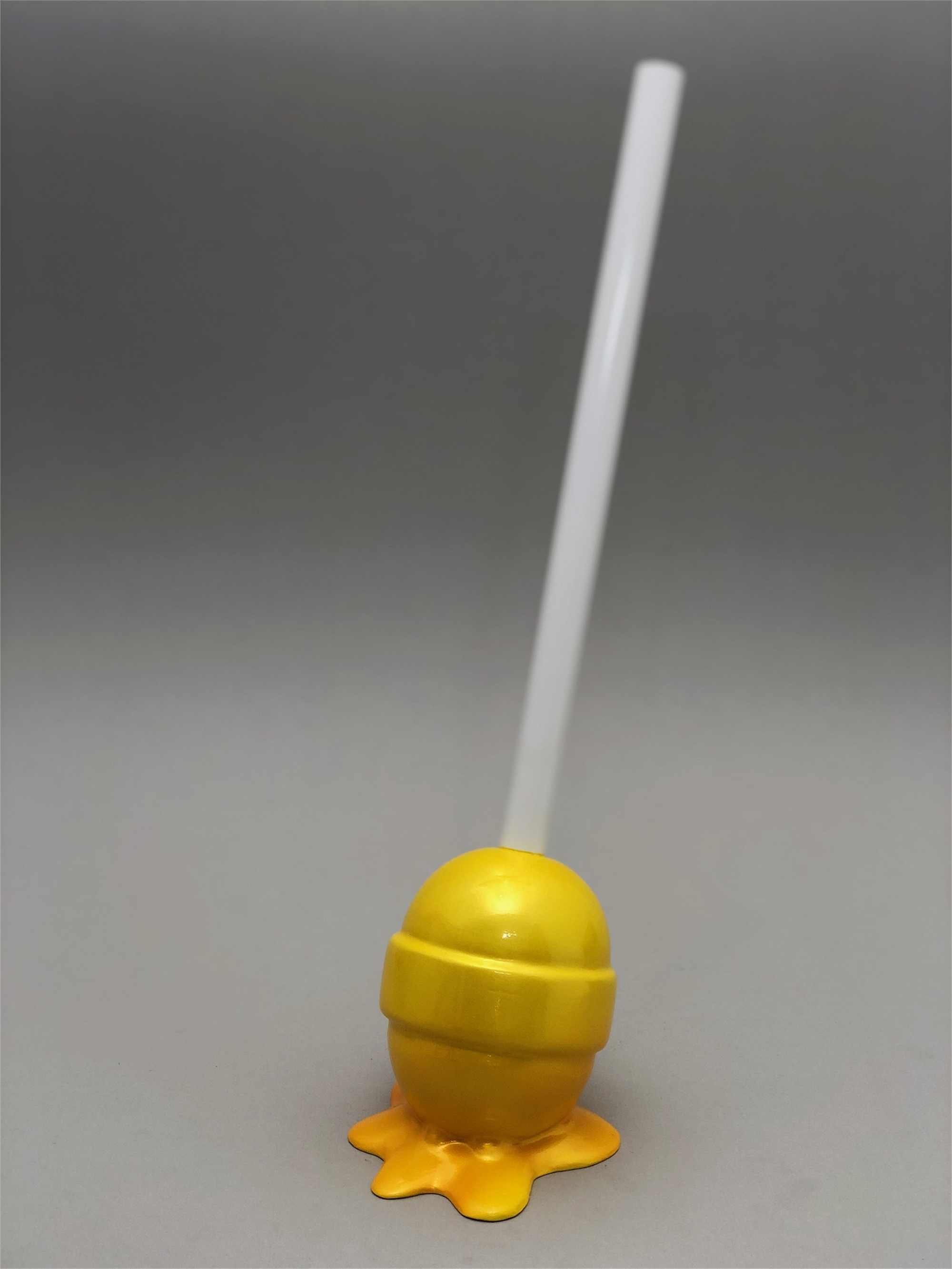 The Sweet Life, small, yellow Lollipop by Elena Bulatova