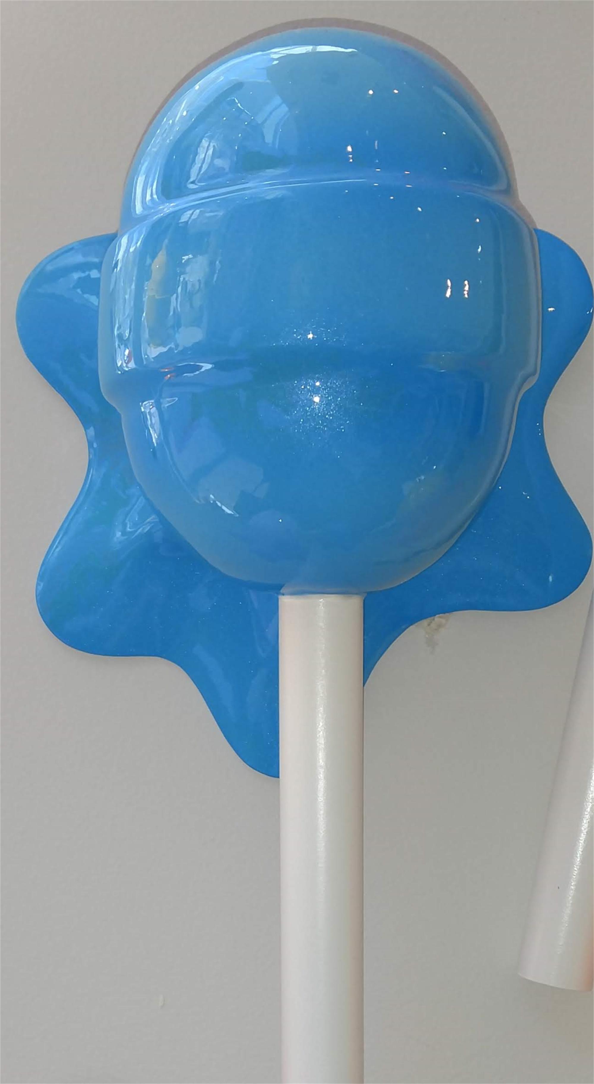 """The Sweet Life"" Blue Horizontal Lollipop by Elena Bulatova"