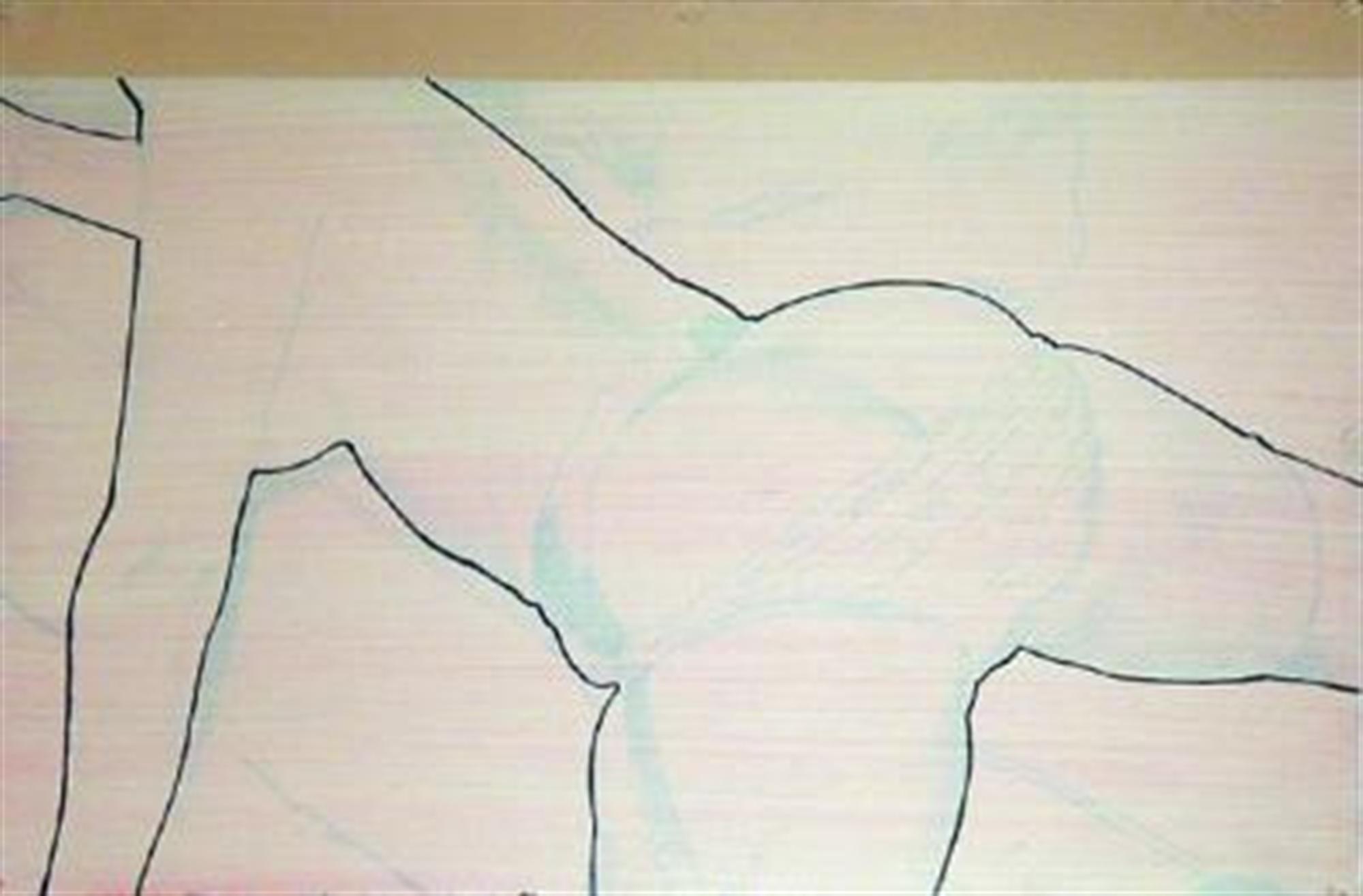 Pink Panties Down by David Chapin