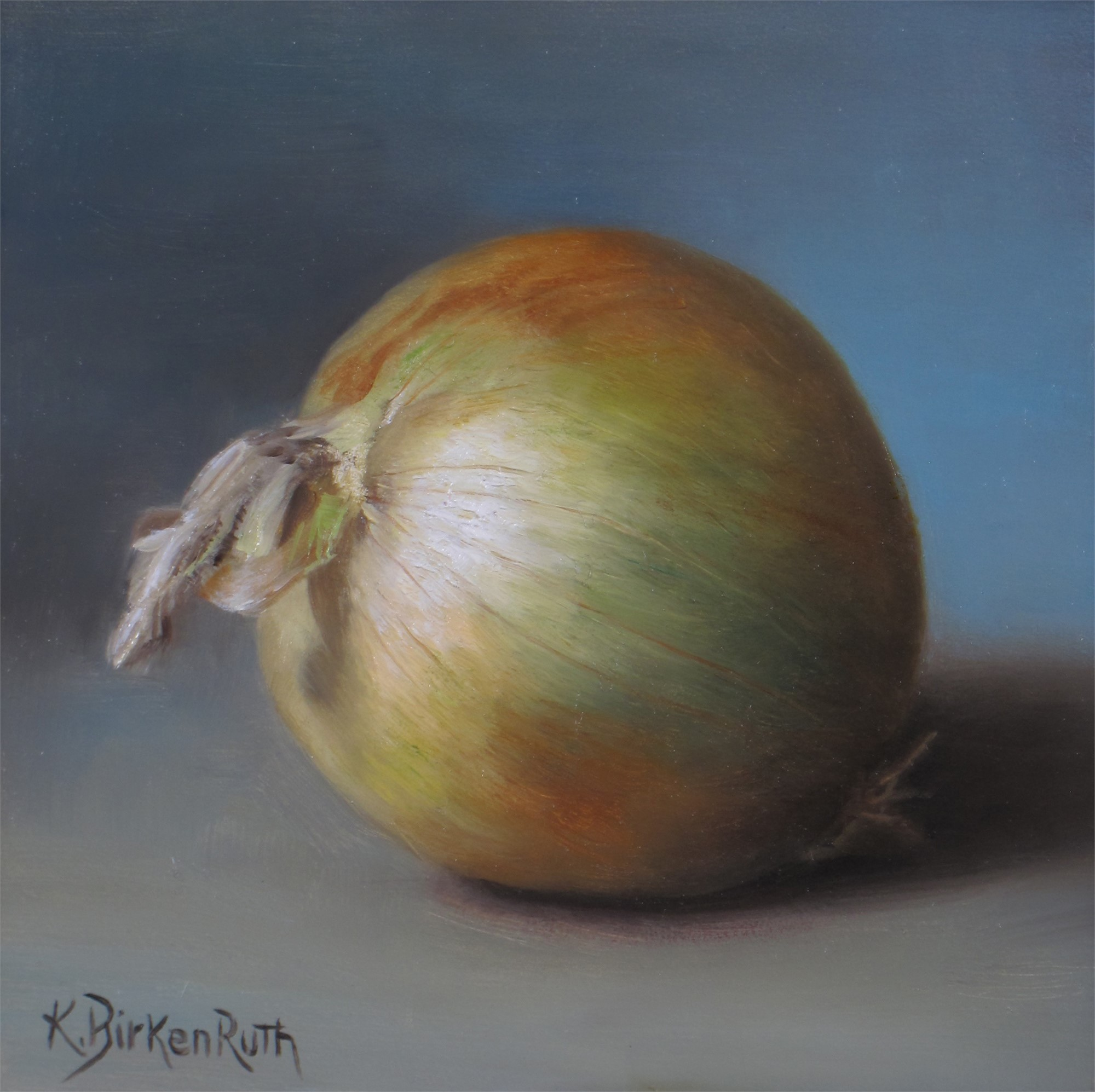 Yellow Onion by Kelly Birkenruth