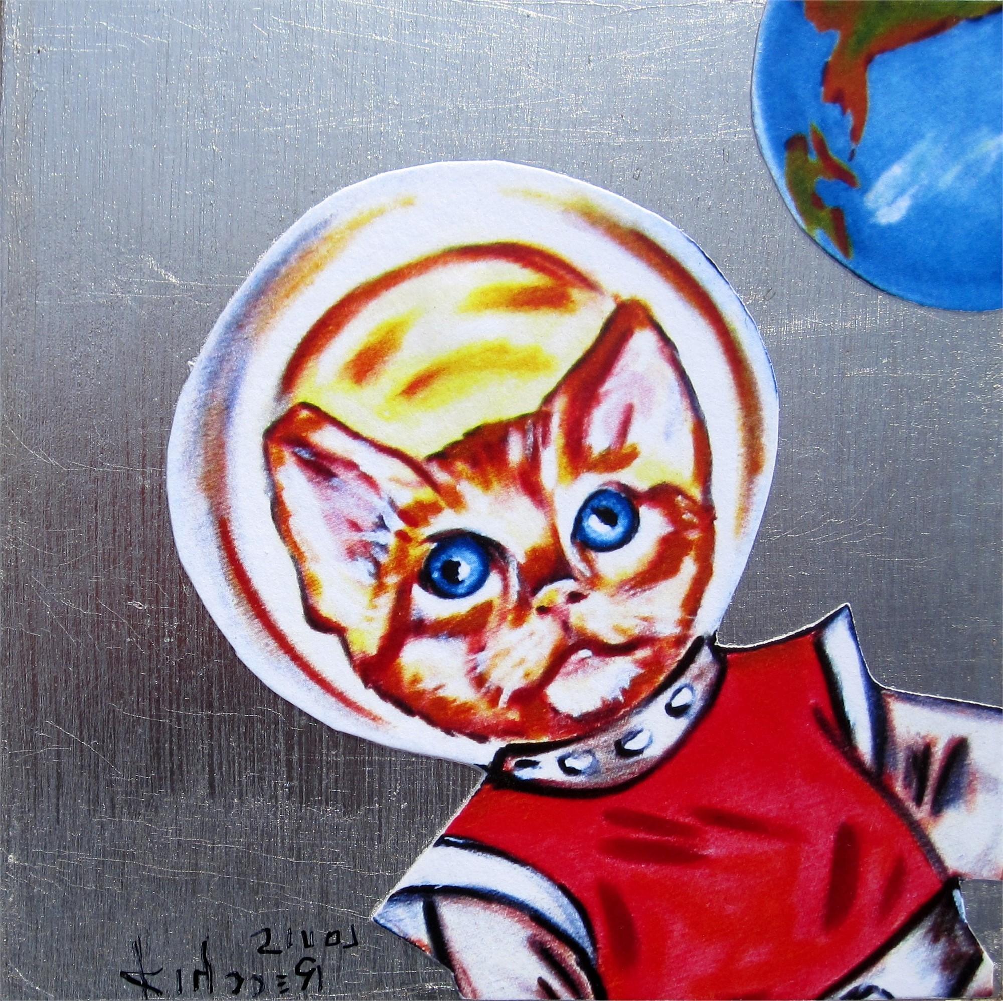 Space Cat by Louis Recchia