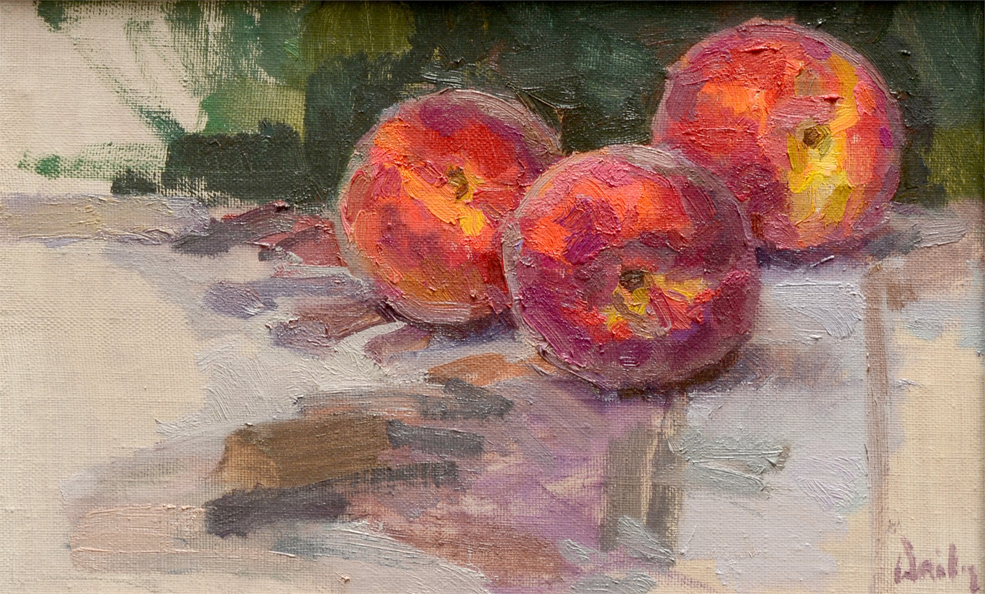 July Peaches by Mark Daily