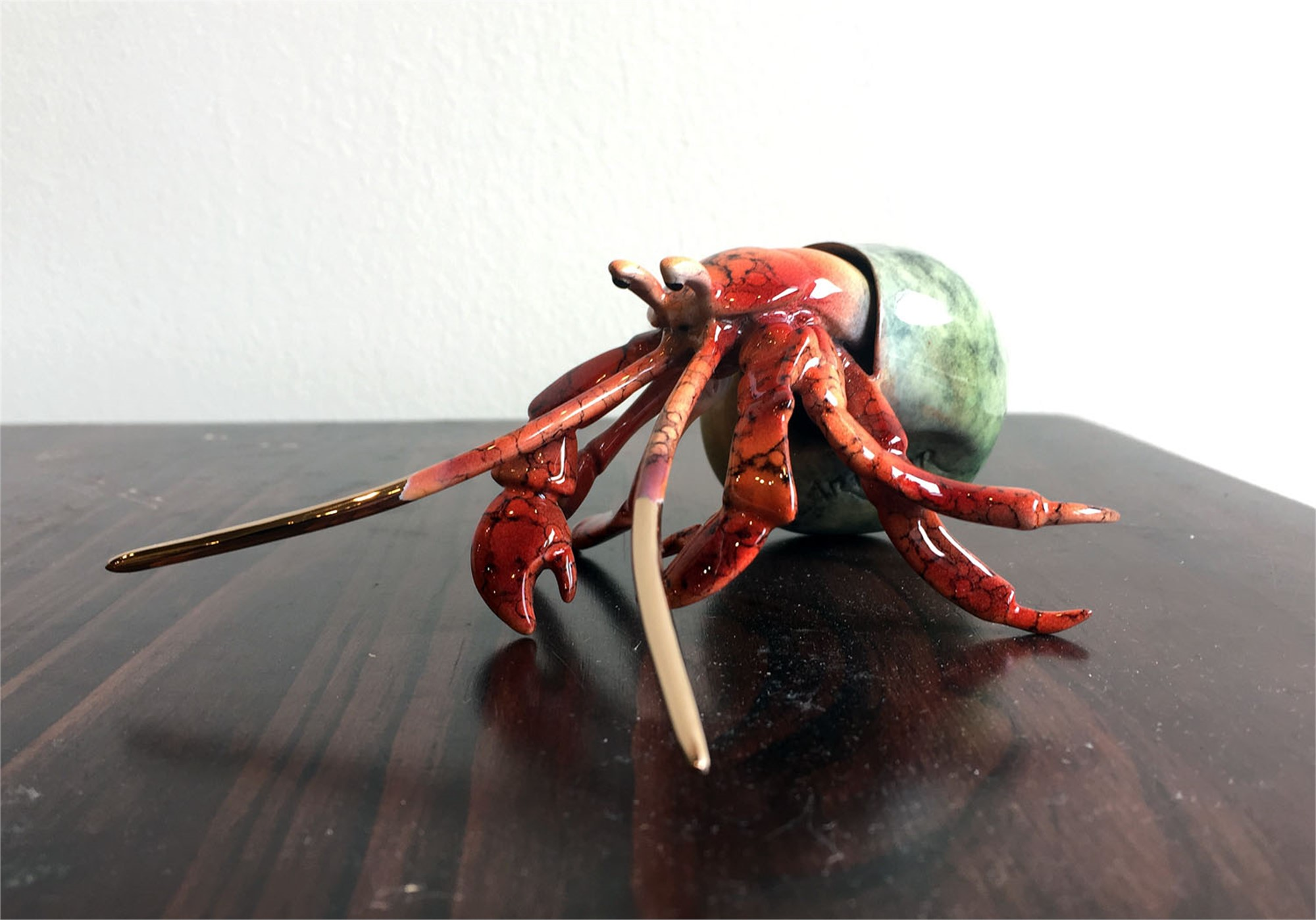 Red Hermit Crab, 2017 by Brian Arthur