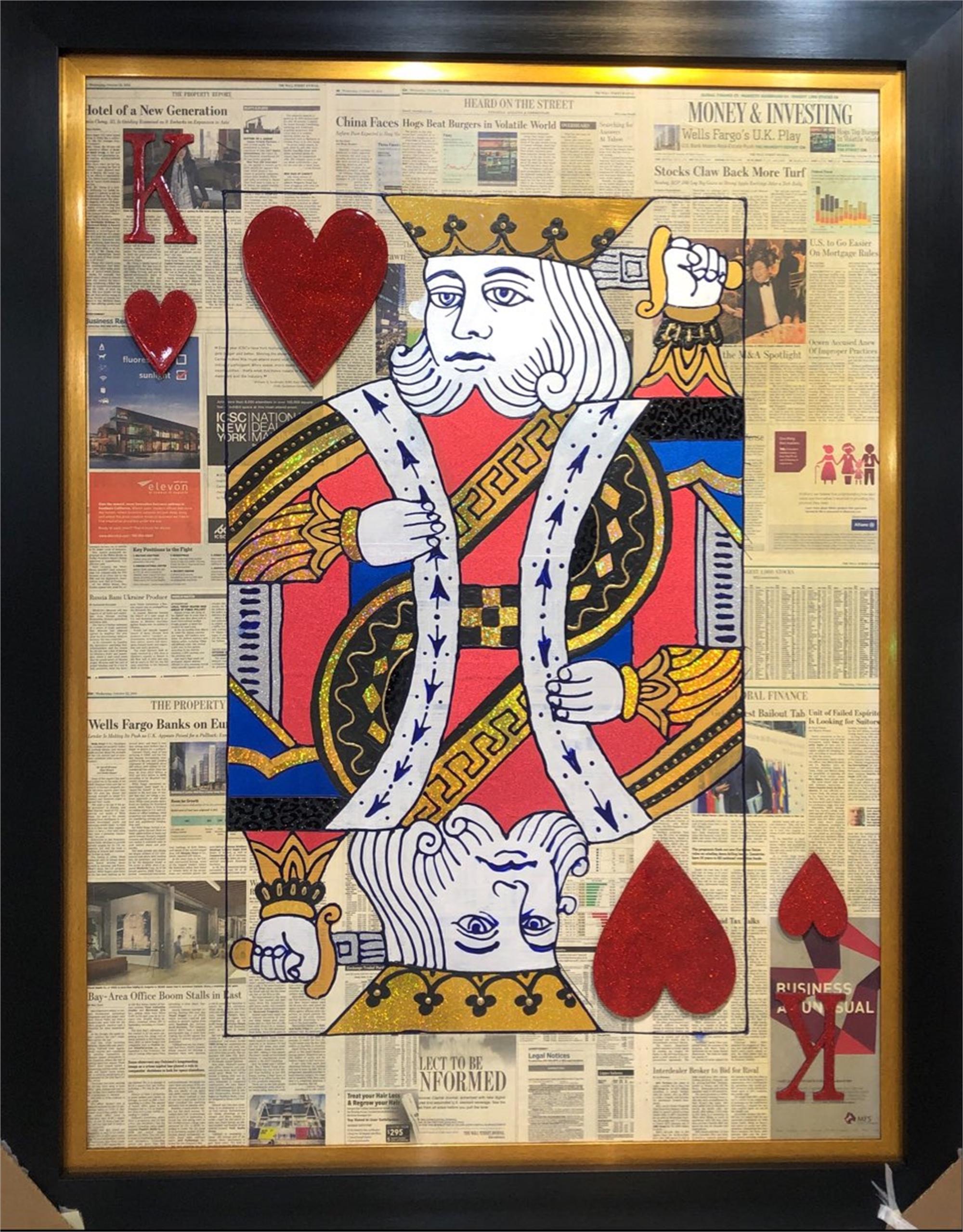 King Of Hearts On WSJ by Elena Bulatova