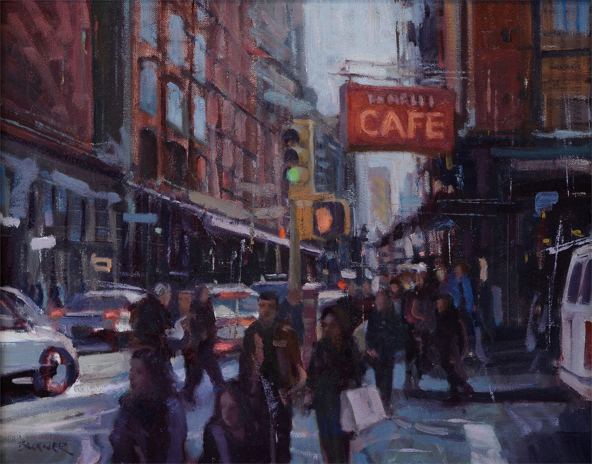 Cafe by Jim Beckner