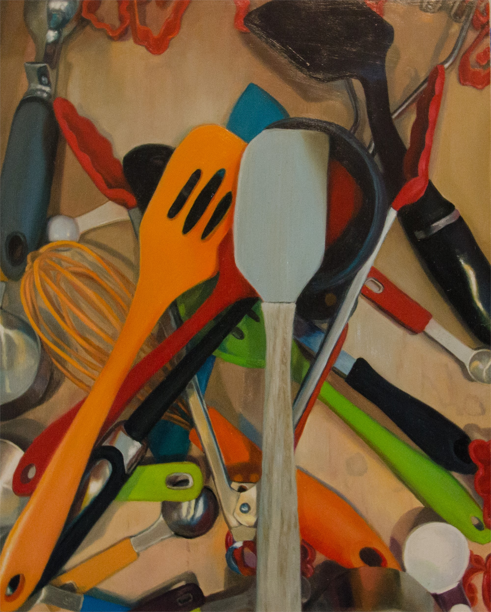 Inside, Utensil Drawer by Erin Milan