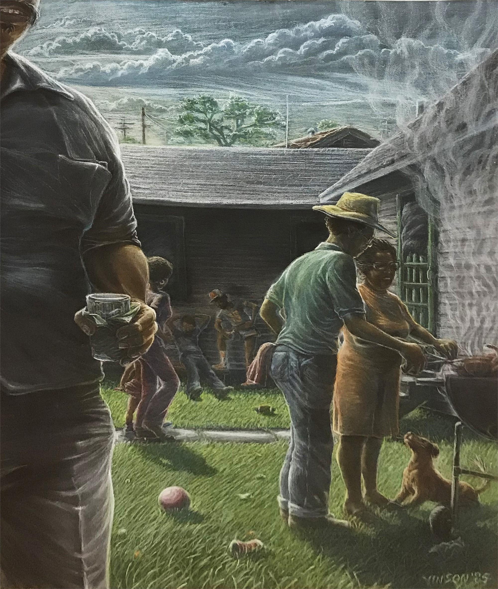 Backyard Que by Roy Vinson Thomas