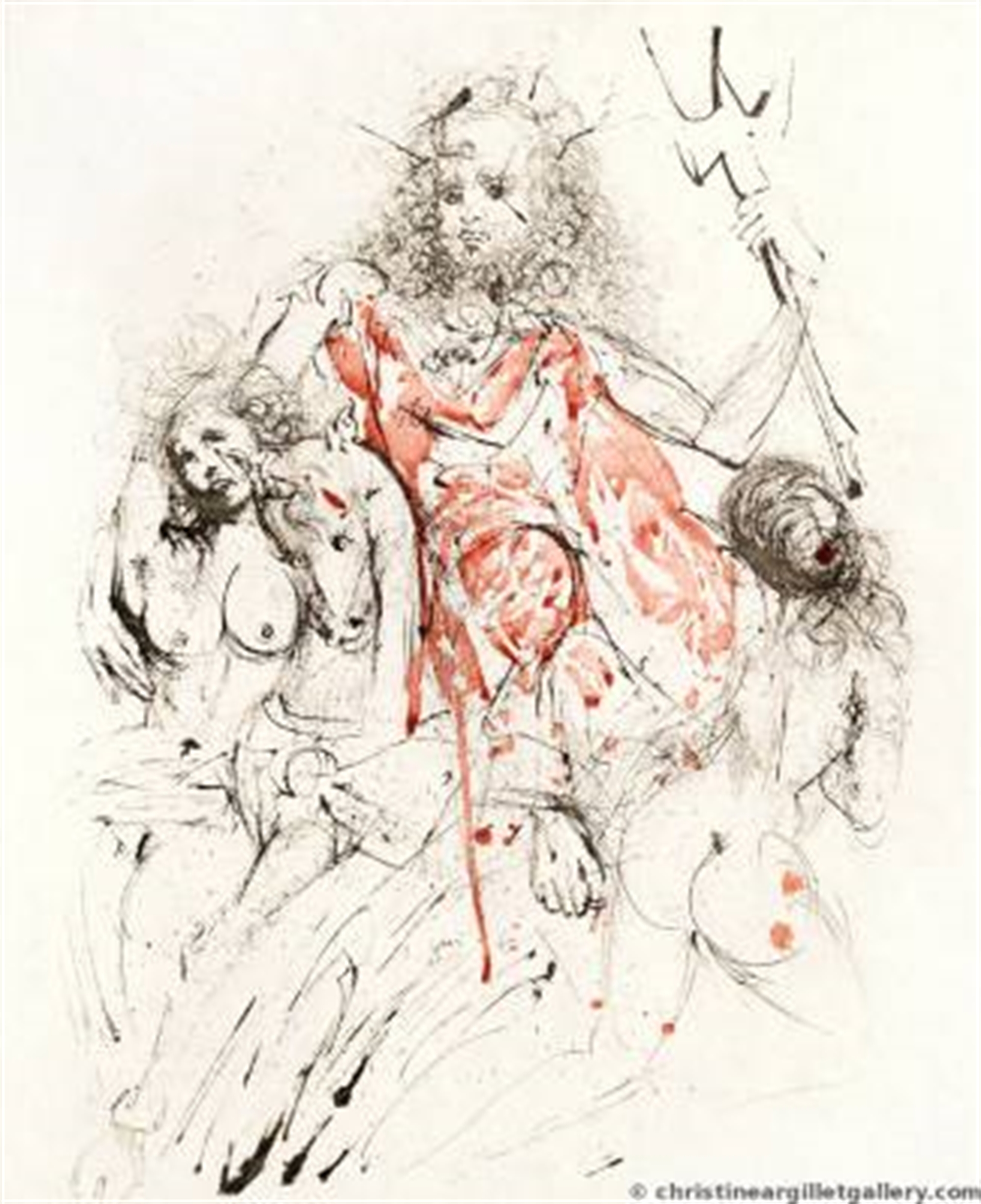 "Mythology ""Neptune"" by Salvador Dali"
