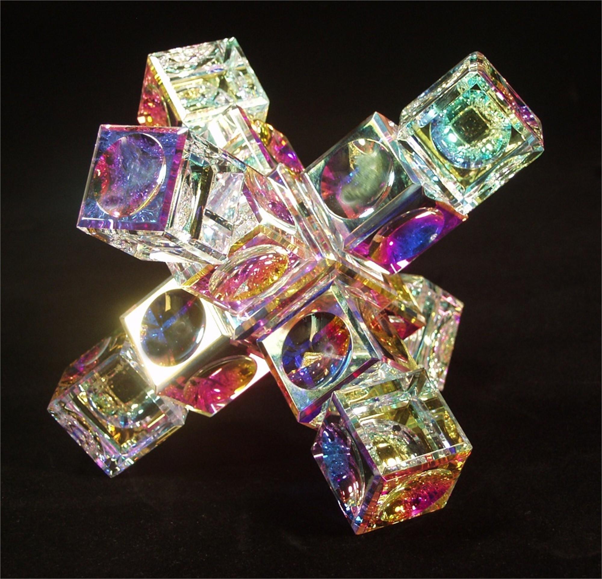 "Crystal Space Station 80/70mm(3 1/8""2 3/4"")-S by Harold Lustig"