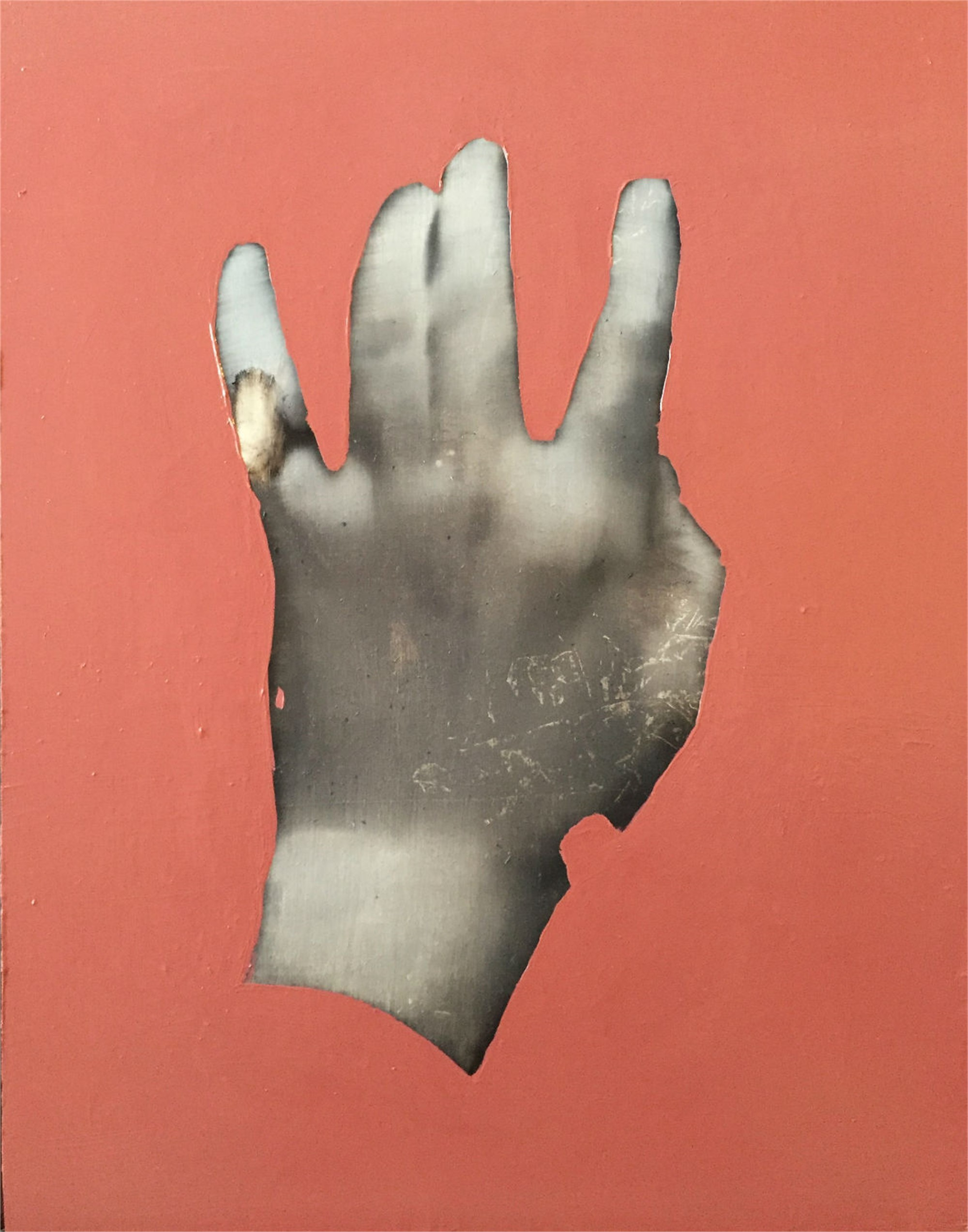 Hand Study I by Wendelin Wohlgemuth