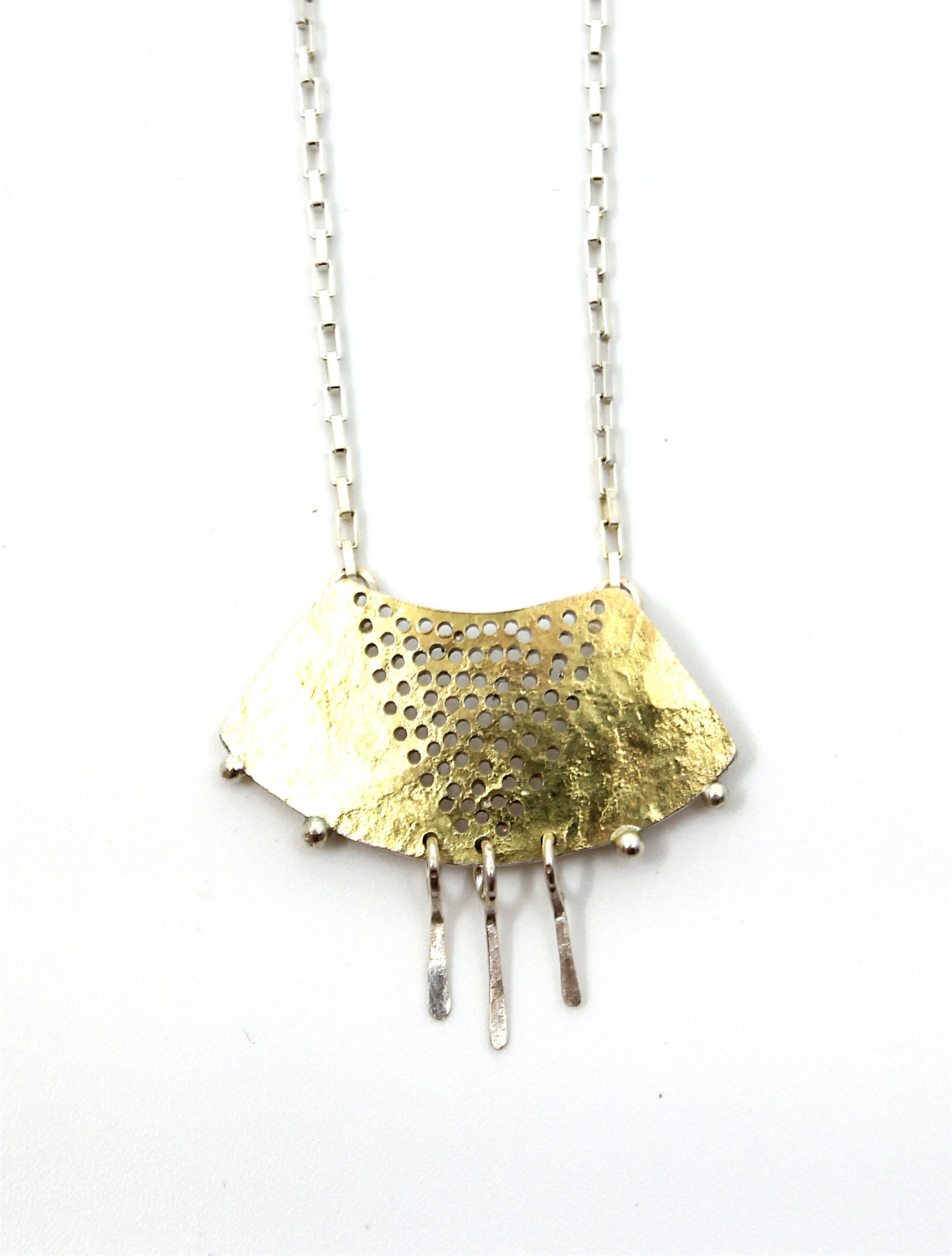 Gibbous Necklace by Leia Zumbro