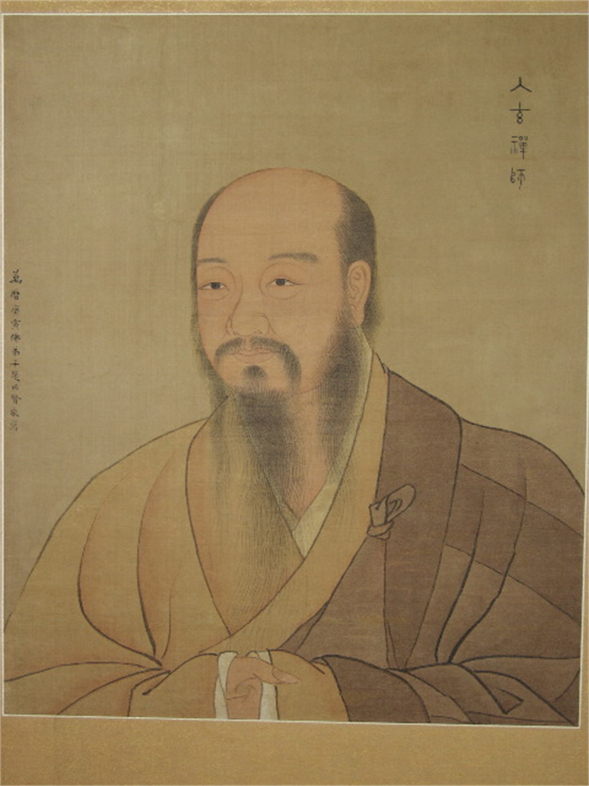 PAINTING OF A BUDDHIST PATRIARCH by Zhao, Yong Xian