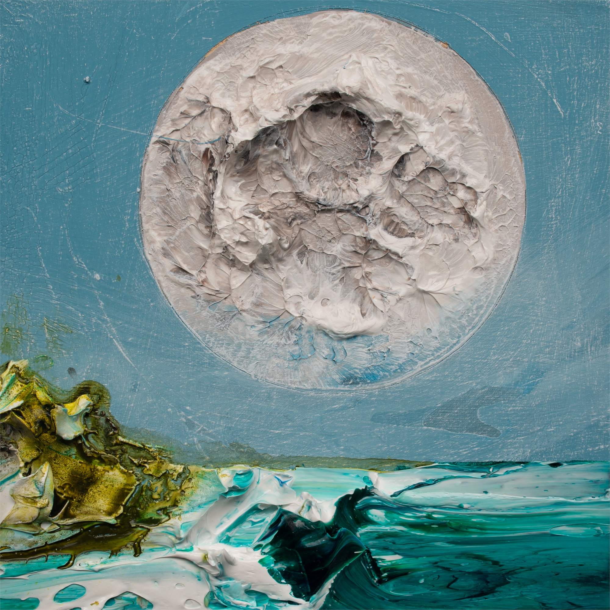 (SOLD) MOONSCAPE MS-12X12-2019-318 by JUSTIN GAFFREY