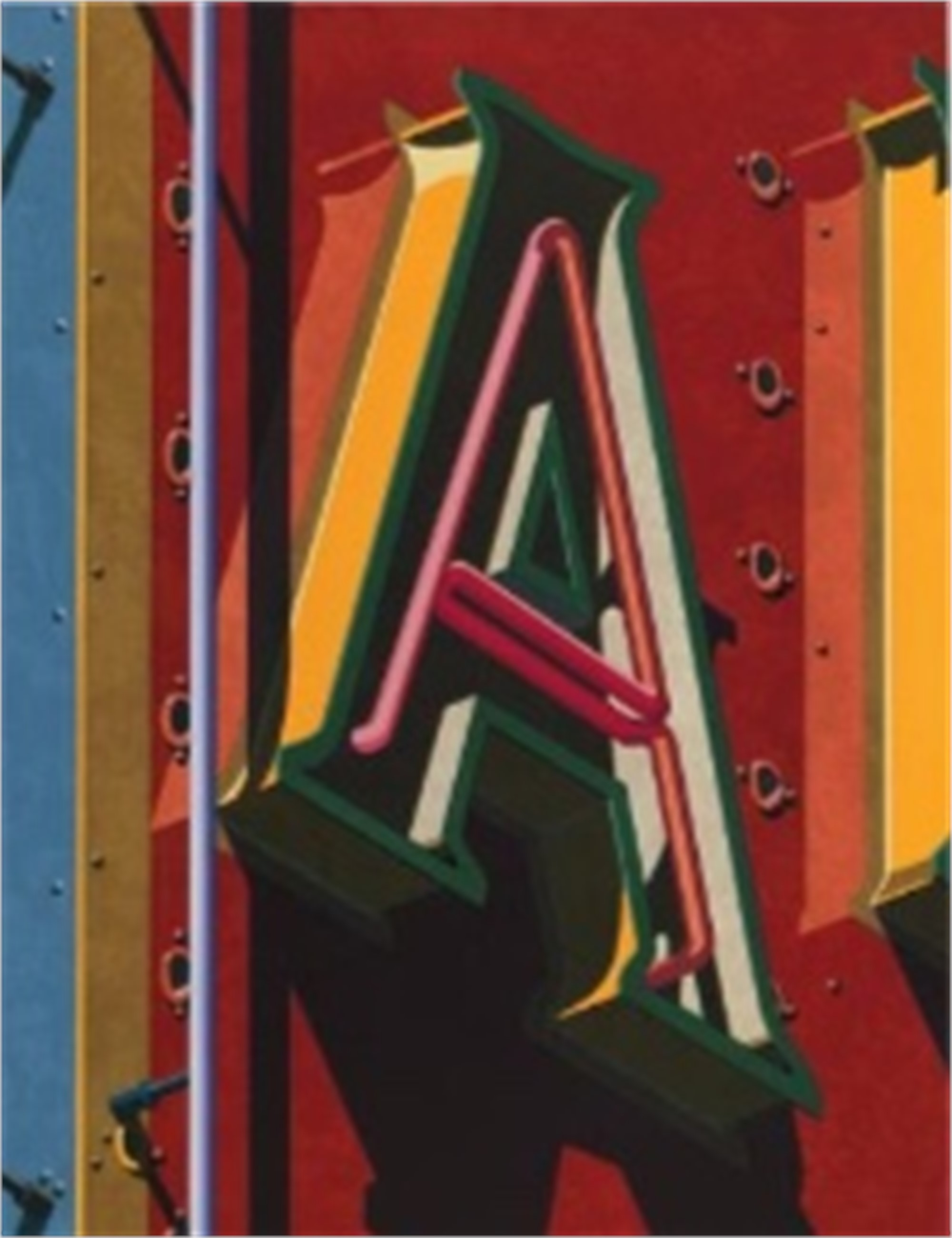 An American Alphabet: A by Robert Cottingham