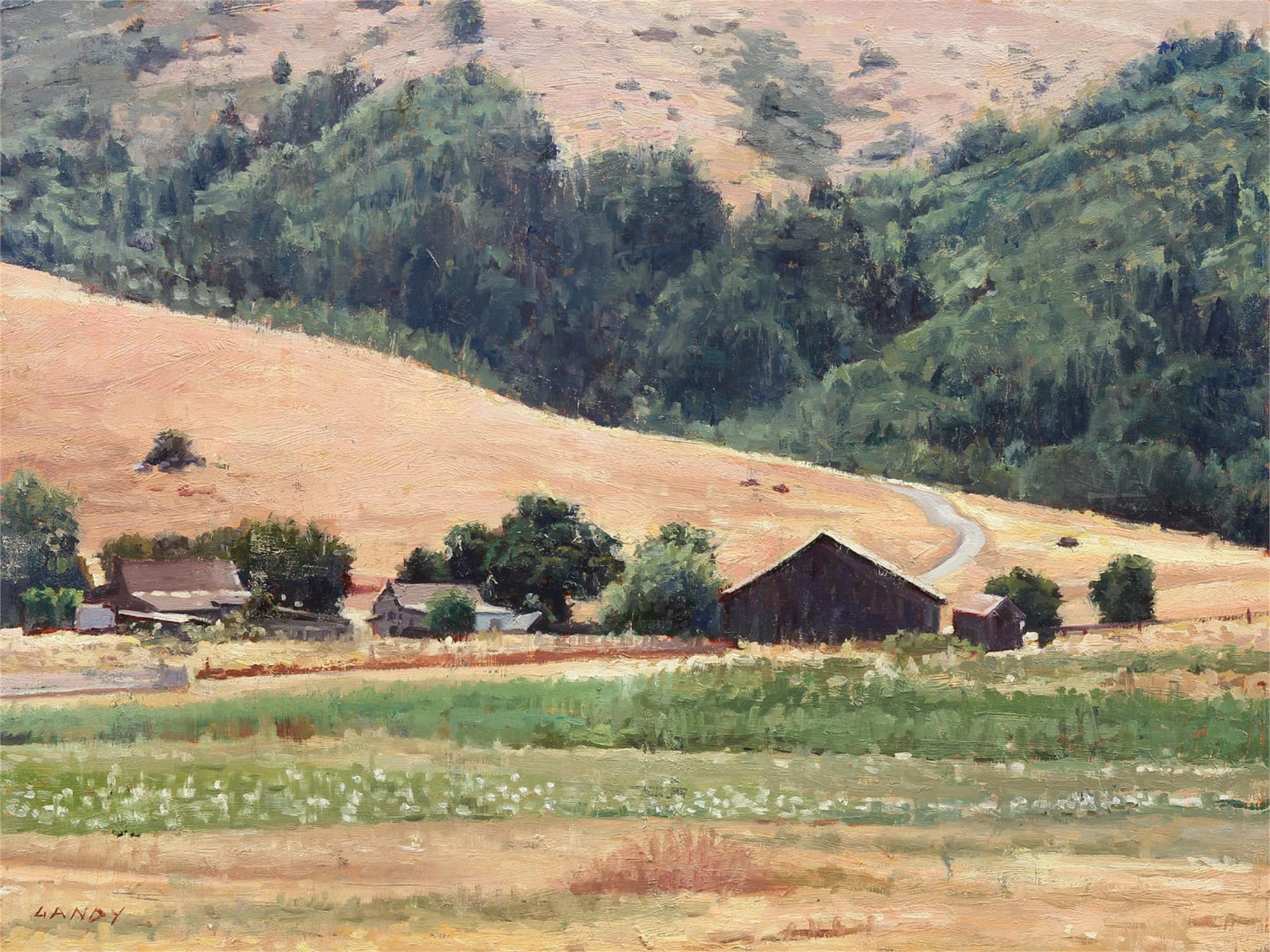 Nicaso Barn by Greg Gandy